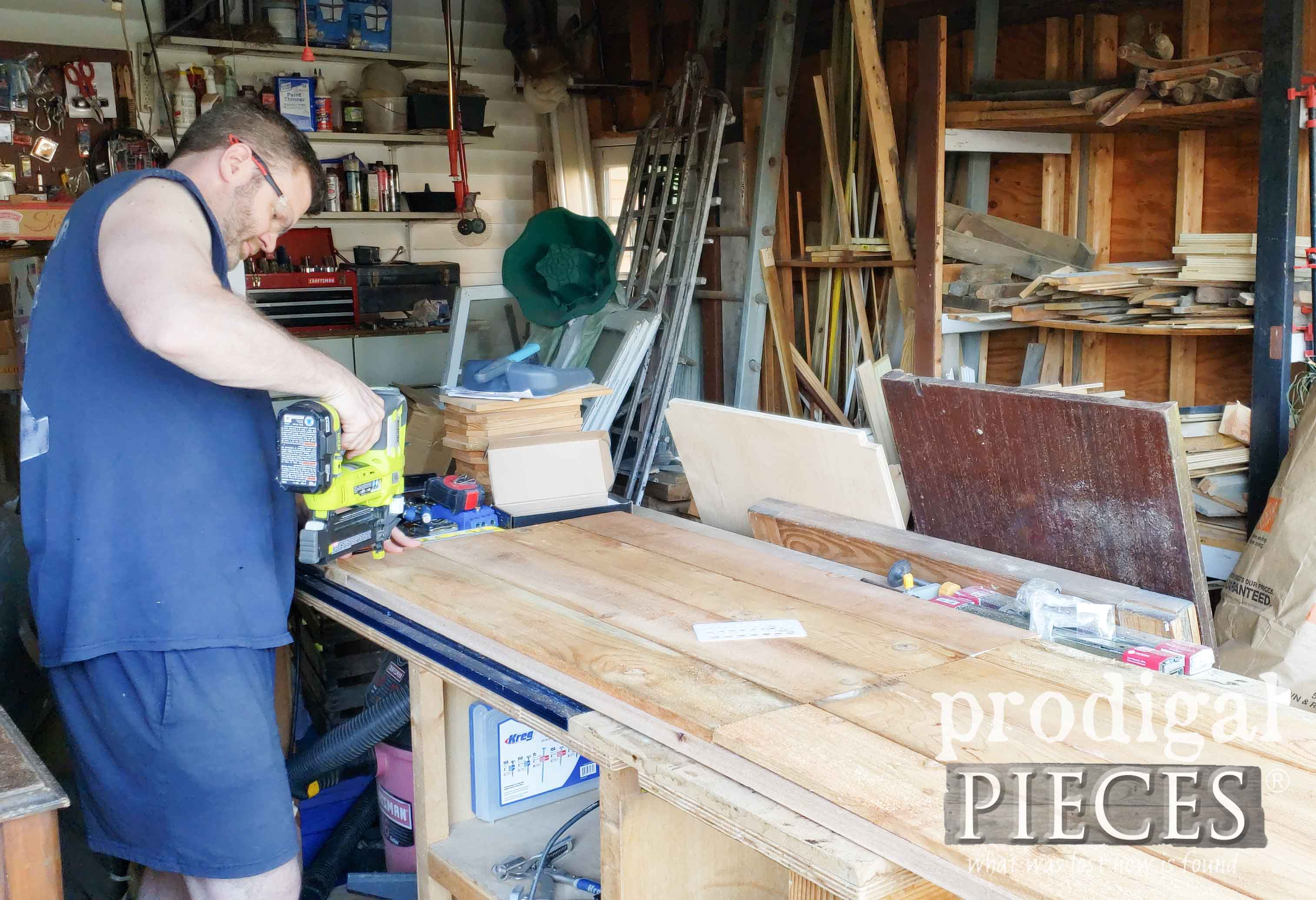 Building and Nailing Shed Doors | prodigalpieces.com