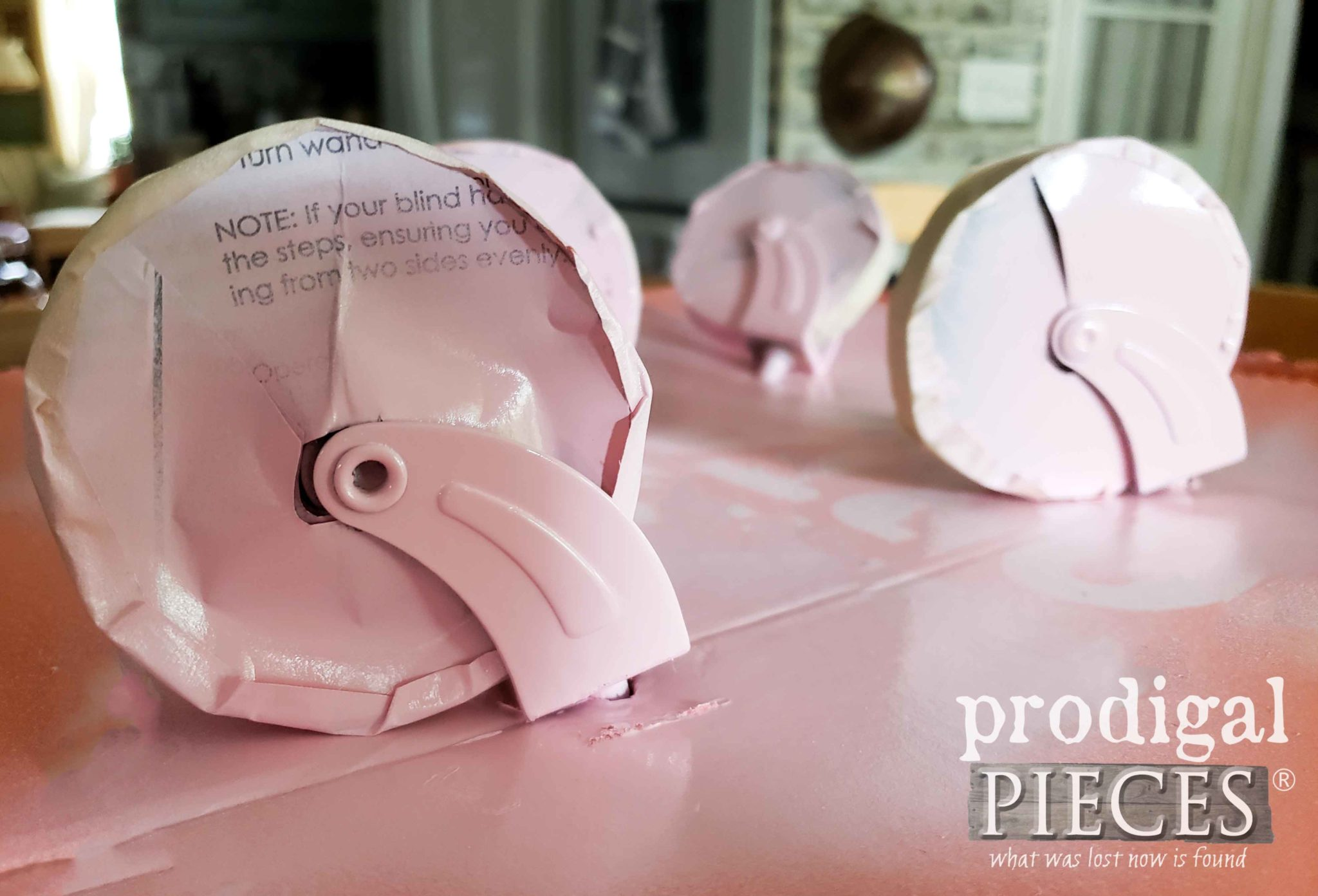 Painting Caster the Easy Way by Larissa of Prodigal Pieces | prodigalpieces.com
