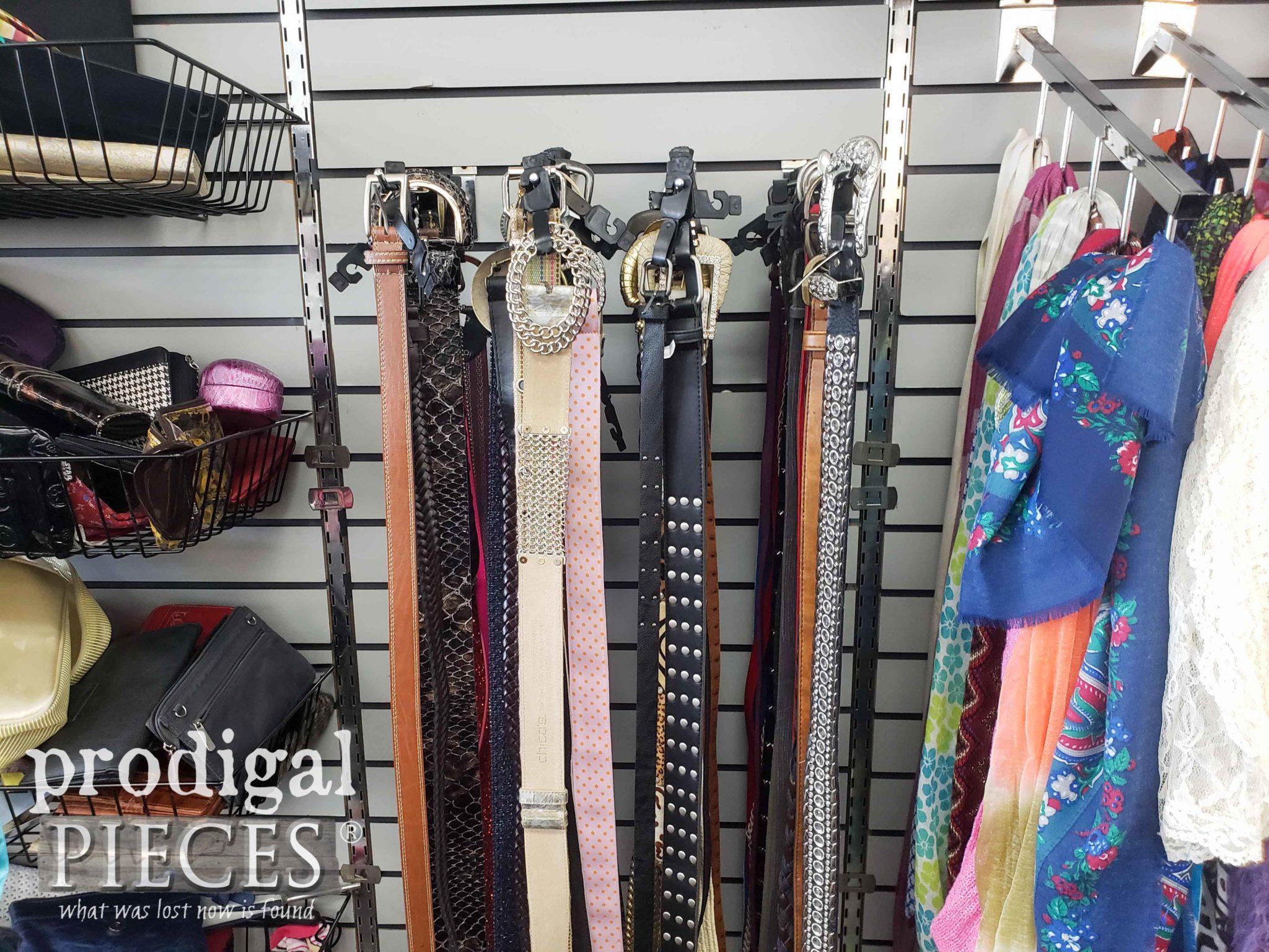 Thrift Store Belt Section | prodigalpieces.com