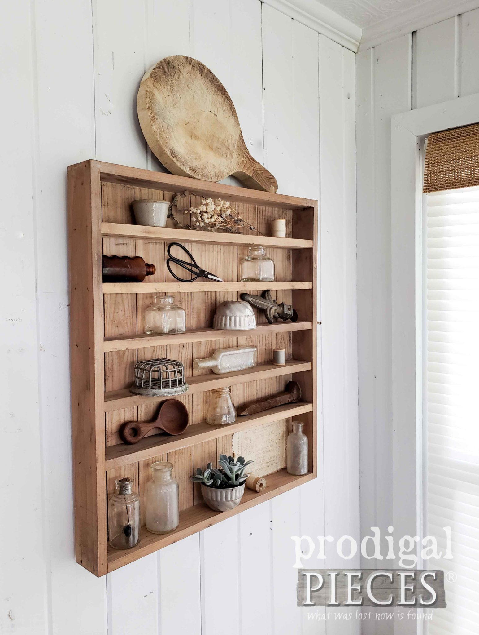 Handmade Apothecary Farmhouse Cabinet by Larissa of Prodigal Pieces | prodigalpieces.com #prodigalpieces #farmhouse #home #diy #homedecor