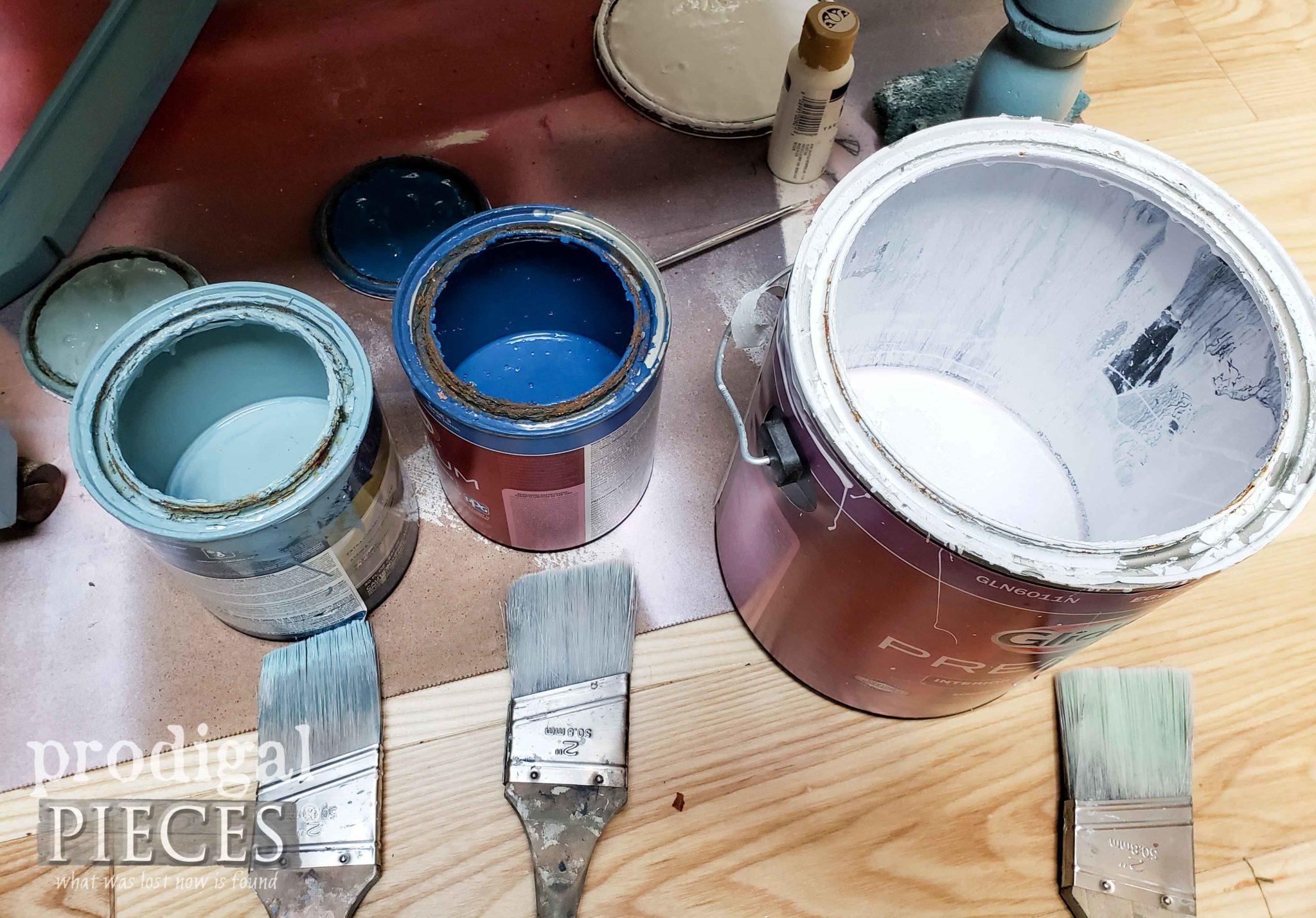 DIY Denim Paint Color Selection | DIY tutorial by Larissa of Prodigal Pieces | prodigalpieces.com #prodigalpieces