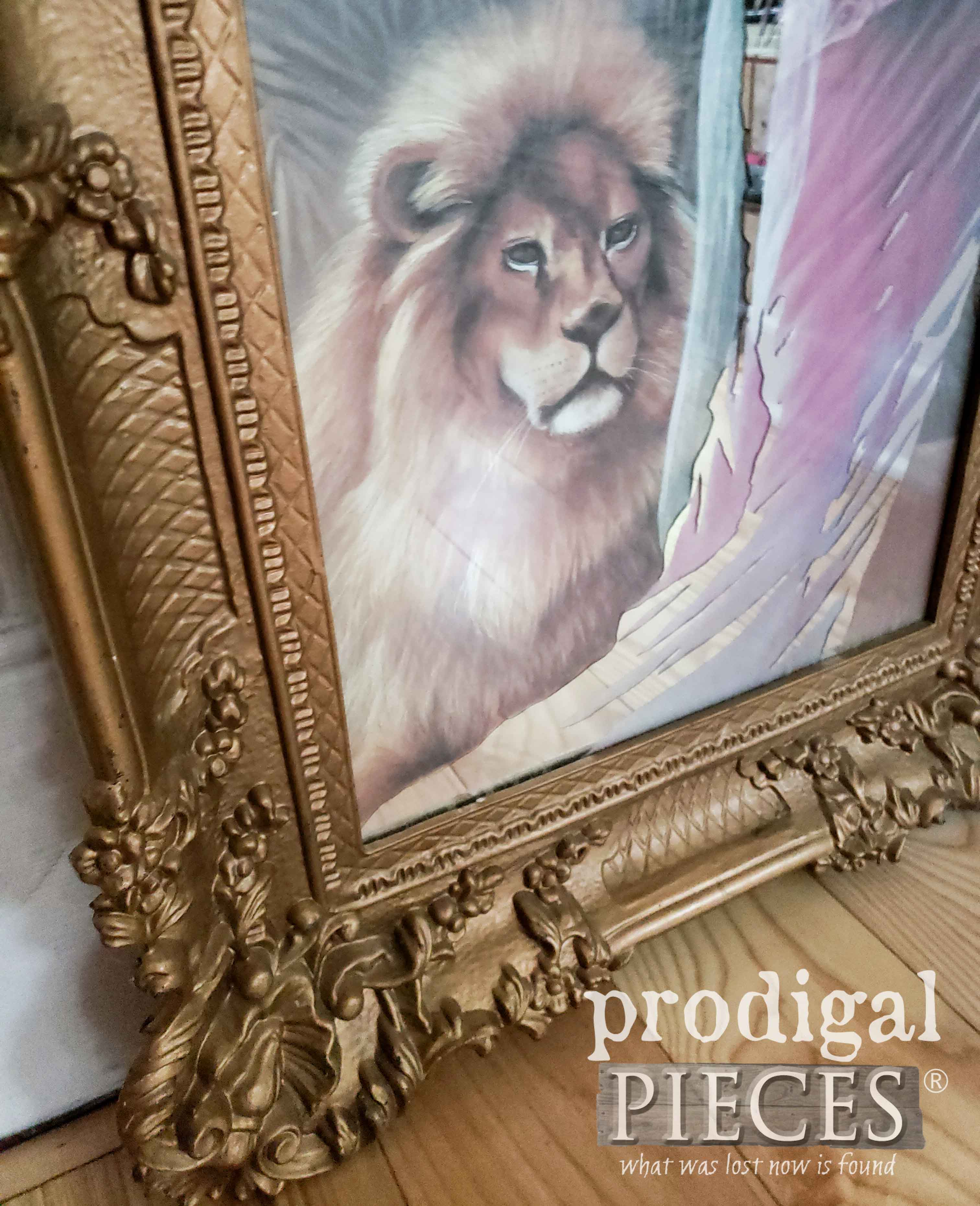 Ornate Frame on Ugly Art | prodigalpieces.com