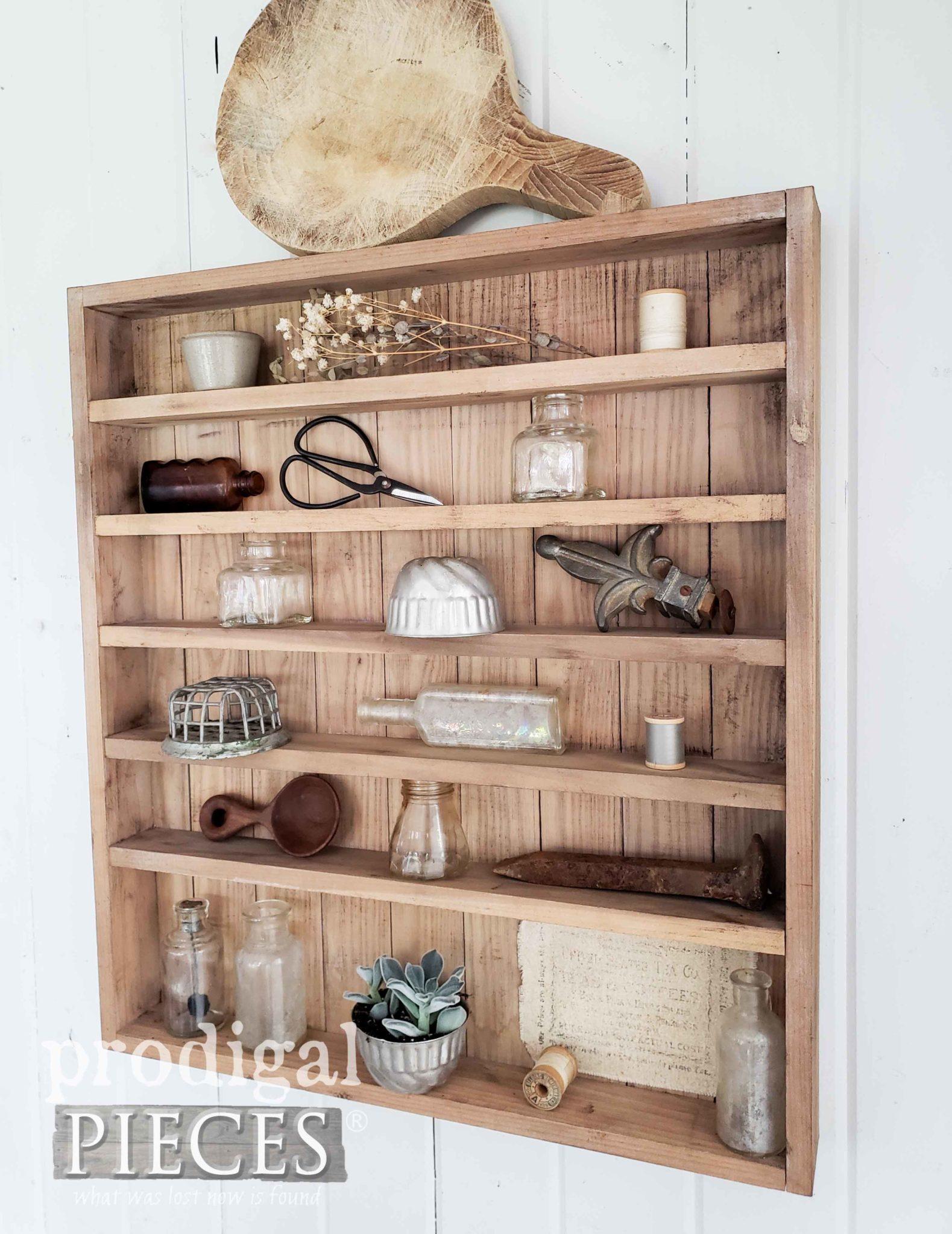 Simple Farmhouse Cabinet | DIY tutorial by Larissa of Prodigal Pieces | prodigalpieces.com #prodigalpieces #farmhouse #diy #home #homedecor