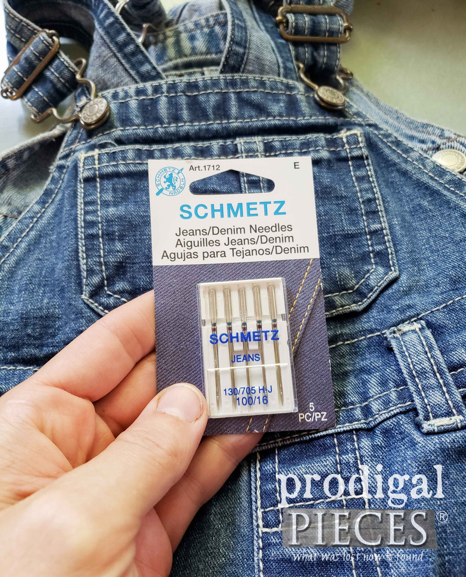 Denim Sewing Machine Needles | prodigalpieces.com