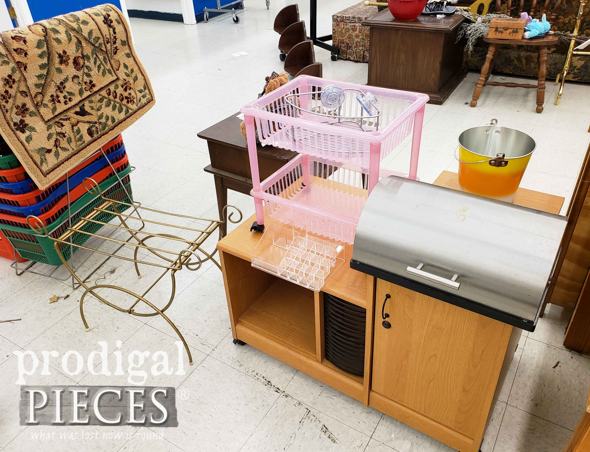 Thrift Store Collection of Goods | prodigalpieces.com