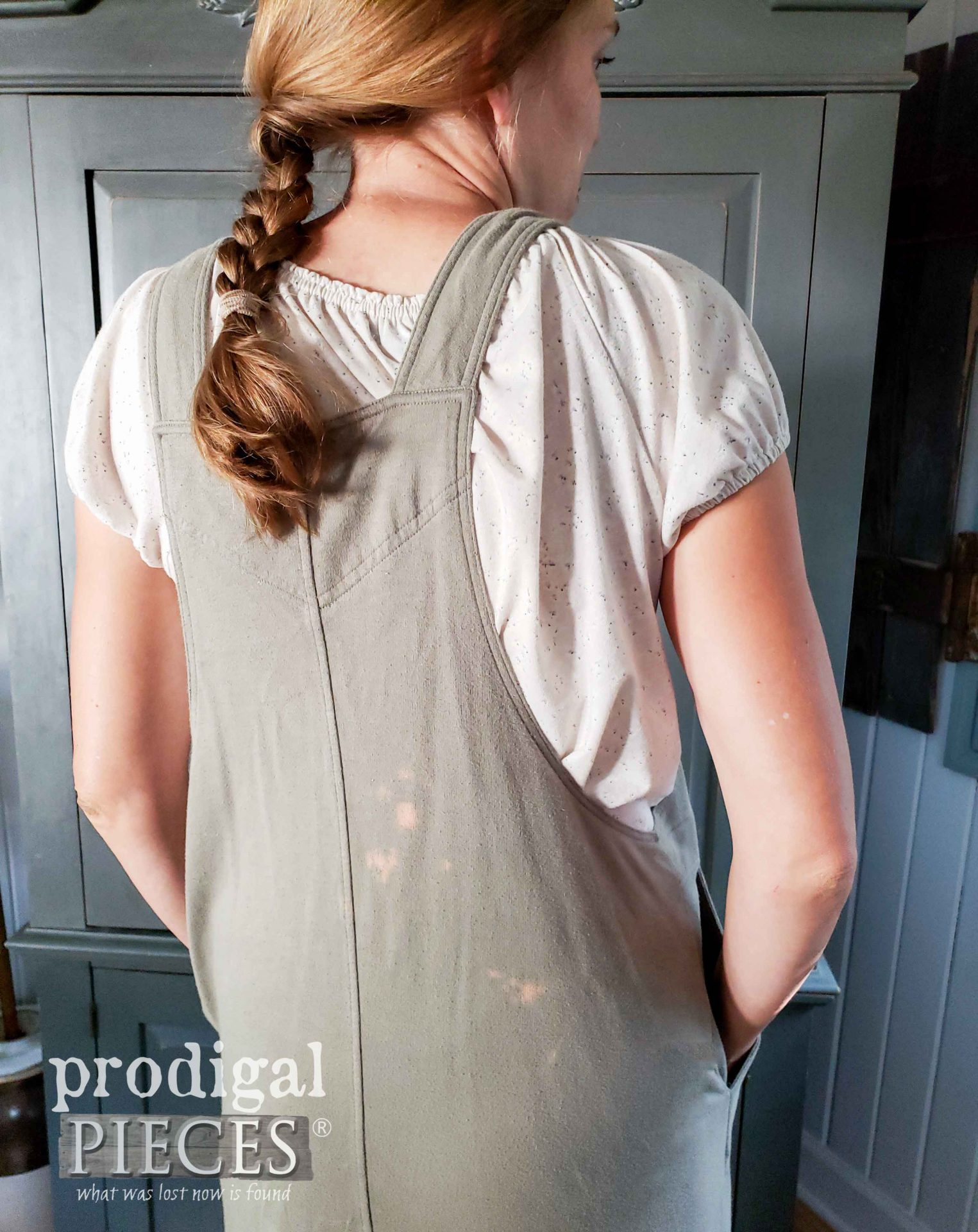 How to Fix Bleached Spots on Clothing and Textiles with Simple Steps by Larissa of Prodigal Pieces | prodigalpieces.com