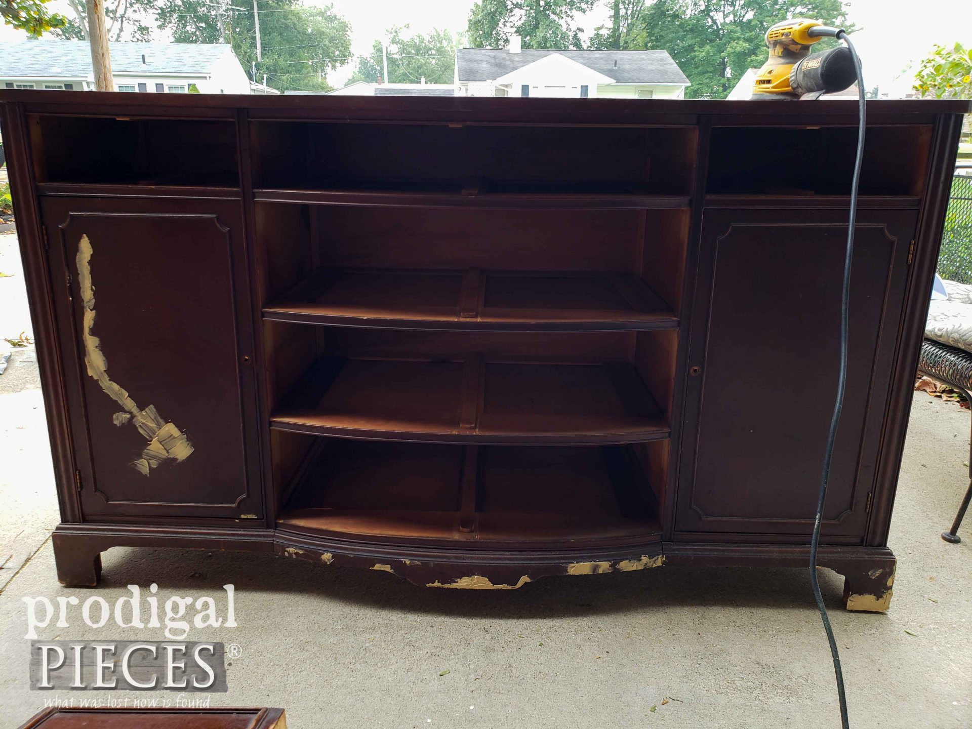 Vintage Buffet with Repairs | prodigalpieces.com