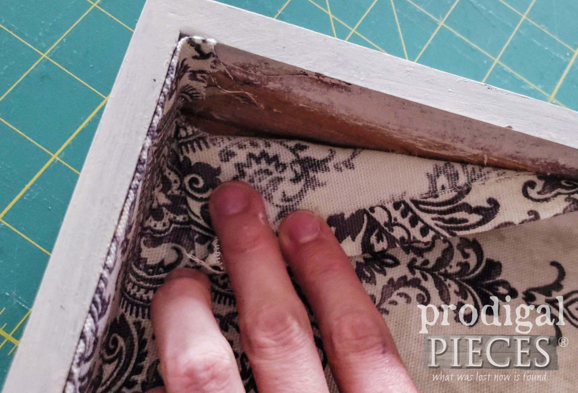 Folded Boxed Corner | prodigalpieces.com