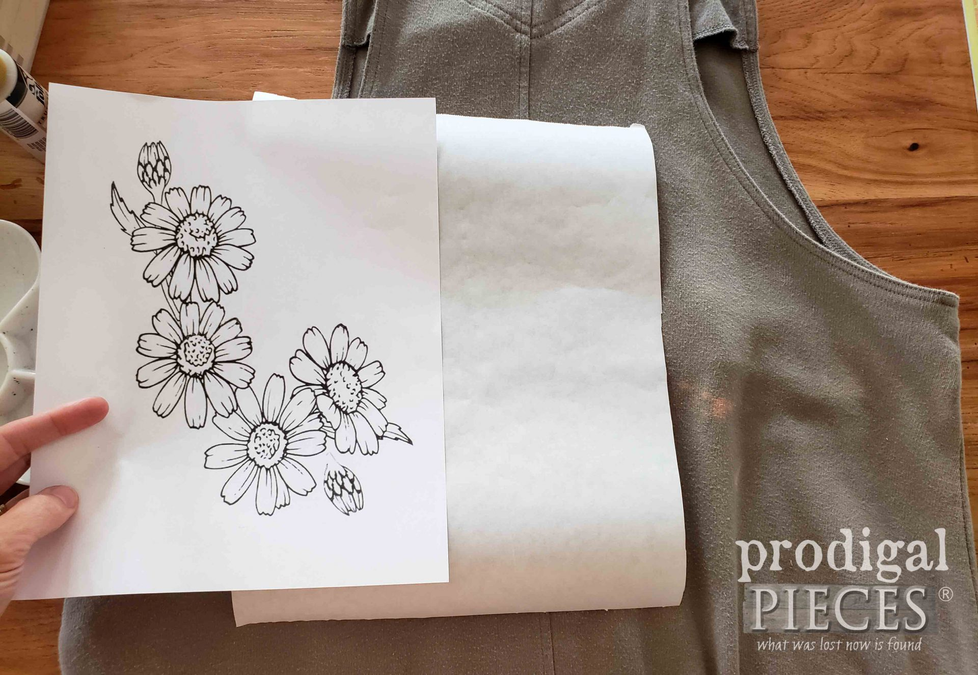 Freezer Paper & Clipart to Make Stencil | prodigalpieces.com