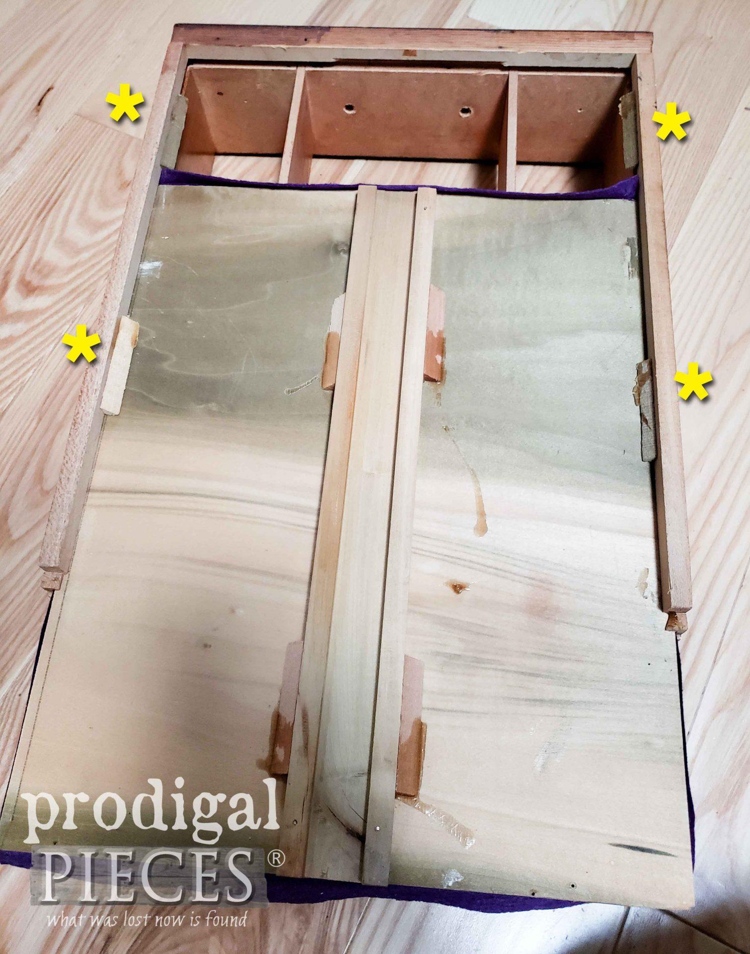Removing Drawer Bottom | prodigalpieces.com
