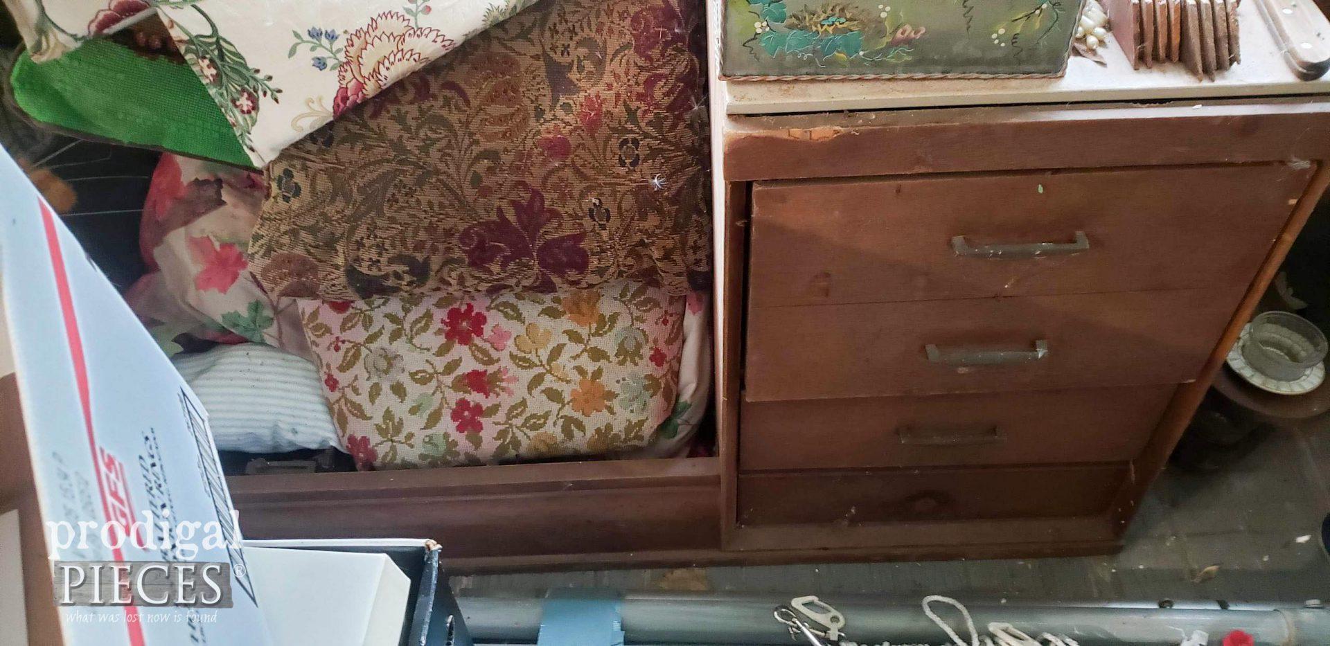 Upside Down Desk Before | prodigalpieces.com