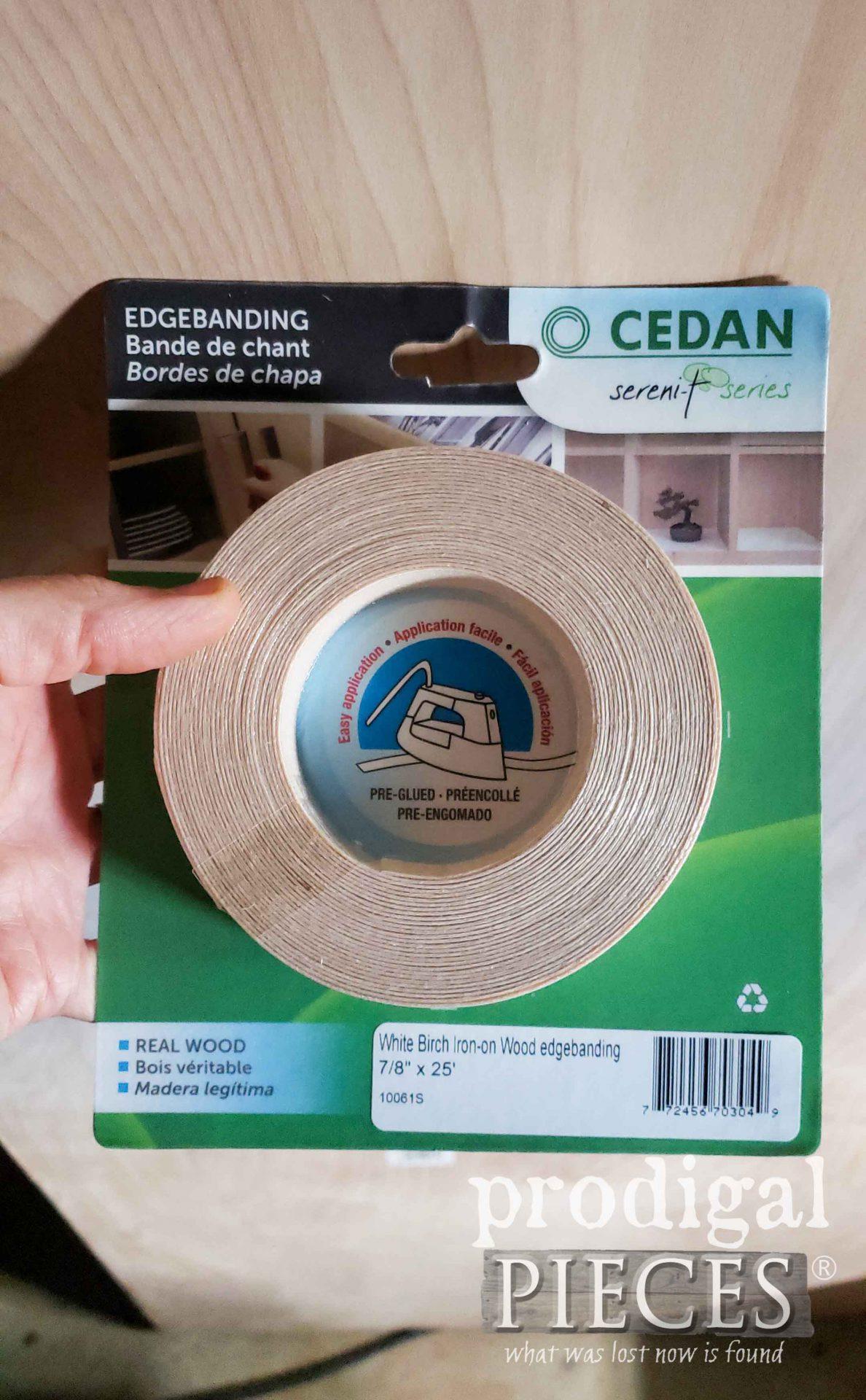 Birch Plywood Edgebanding for Desk Top | prodigalpieces.com