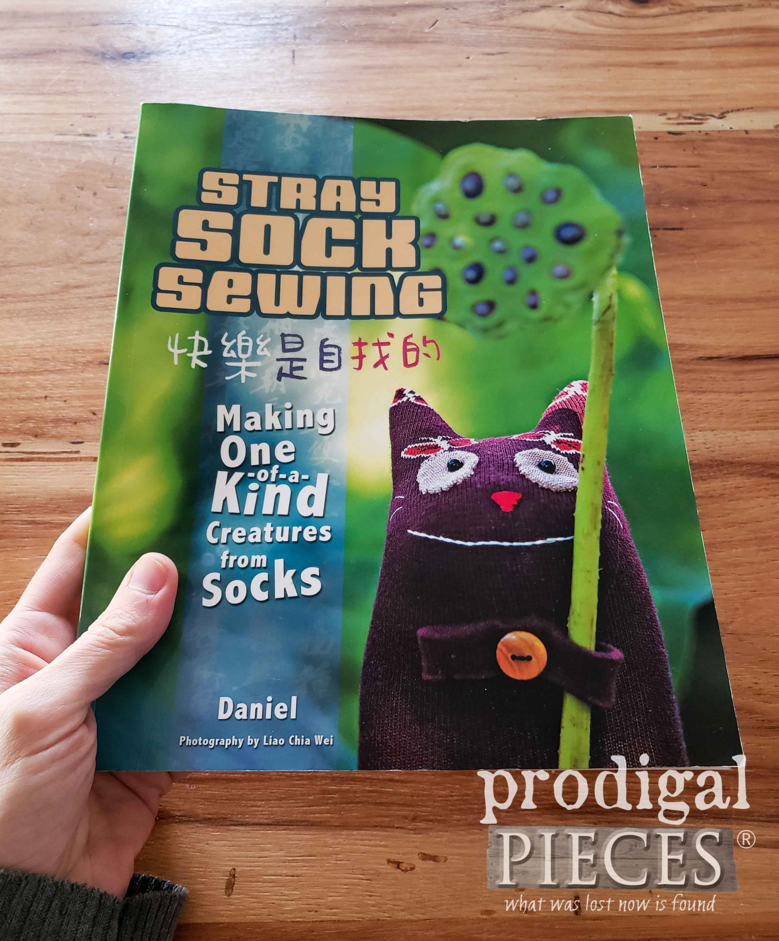 Stray Sock Sewing by Daniel to create funtastic sock dolls & animals | prodigalpieces.com #prodigalpieces