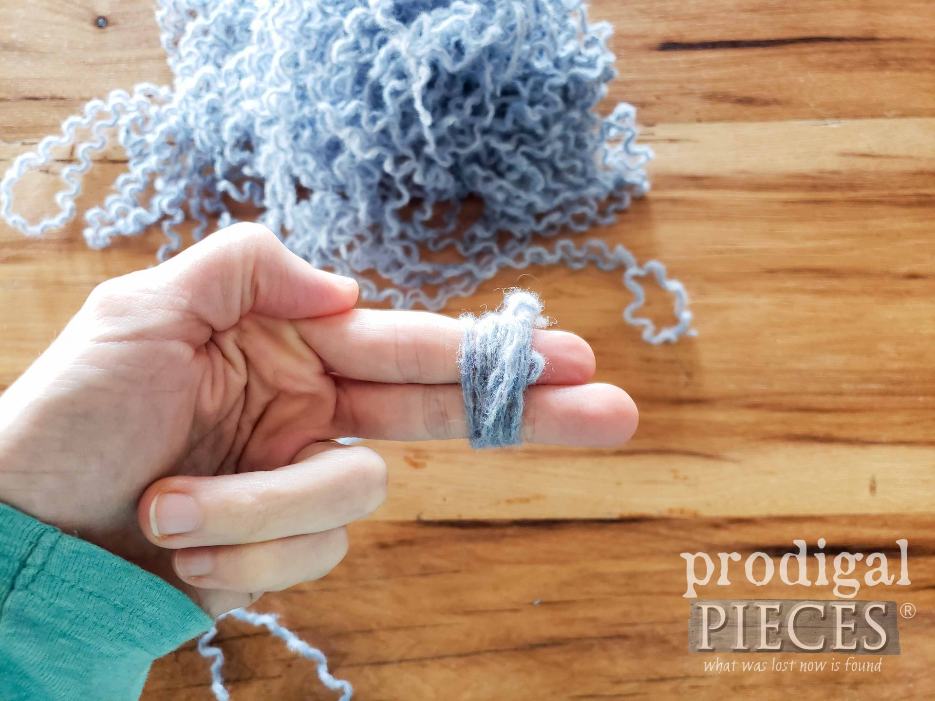 Beginning to Wool Dryer Ball | prodigalpieces.com