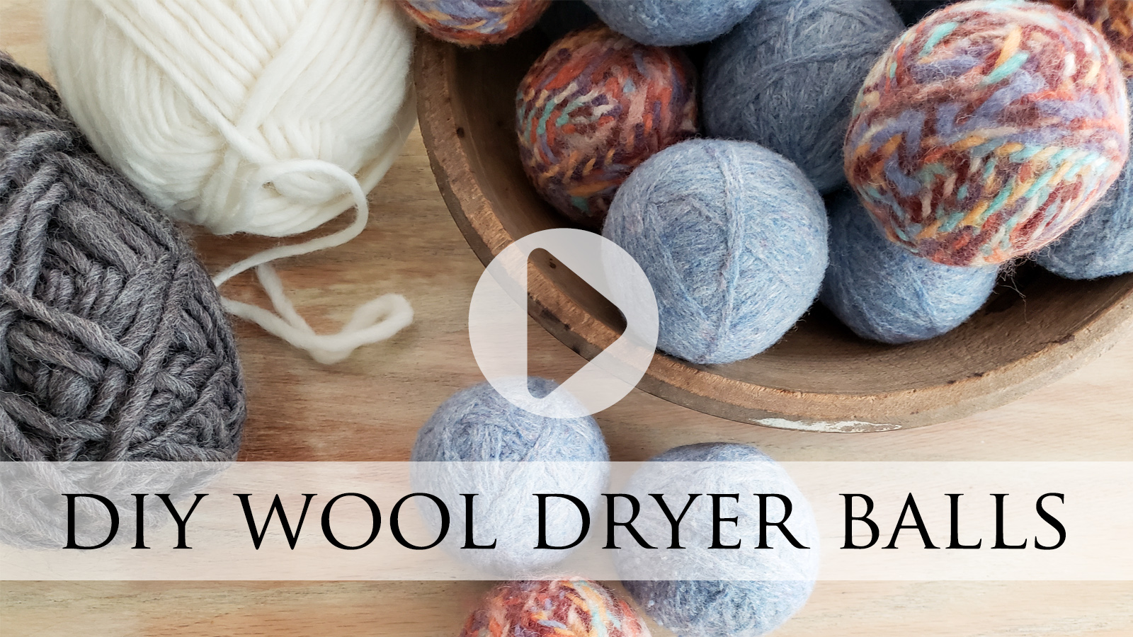 DIY Wool Dryer Balls from Felted Sweater by Larissa of Prodigal Pieces | prodigalpieces.com #prodigalpieces