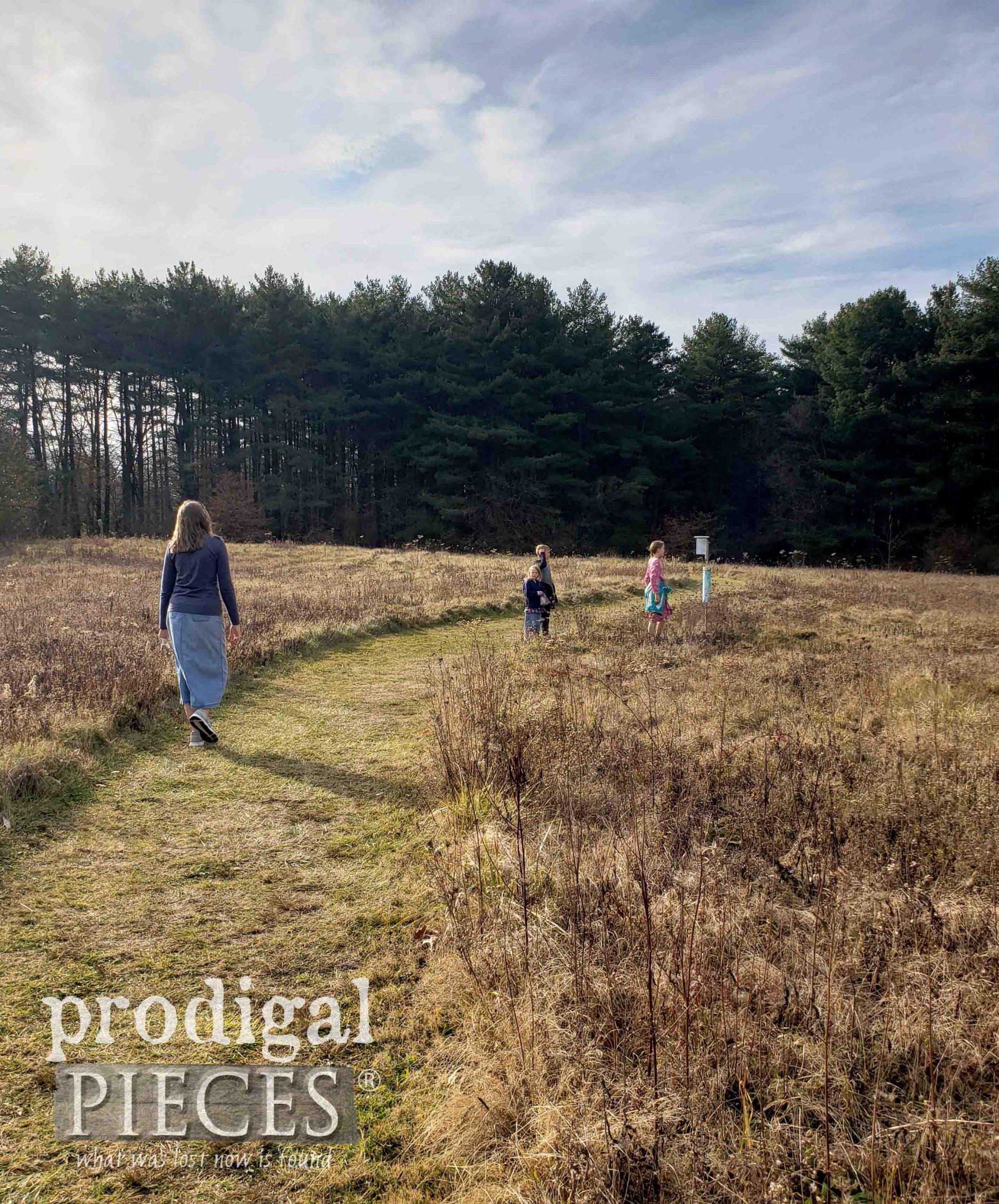Outdoor Walk with Family | prodigalpieces.com