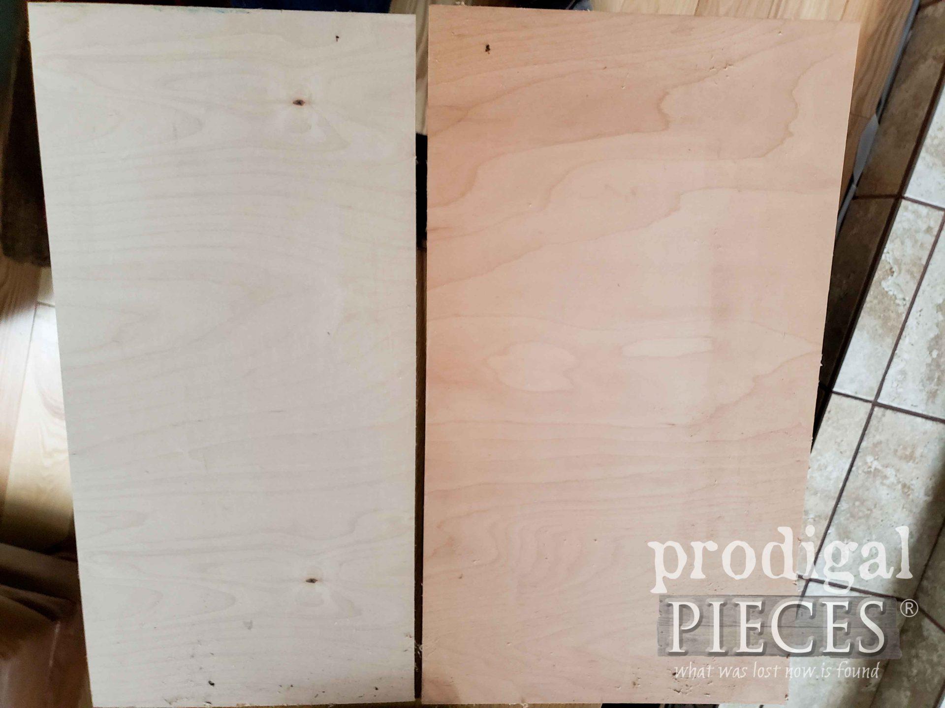 Scrap Ply for Media Stand Doors | prodigalpieces.com