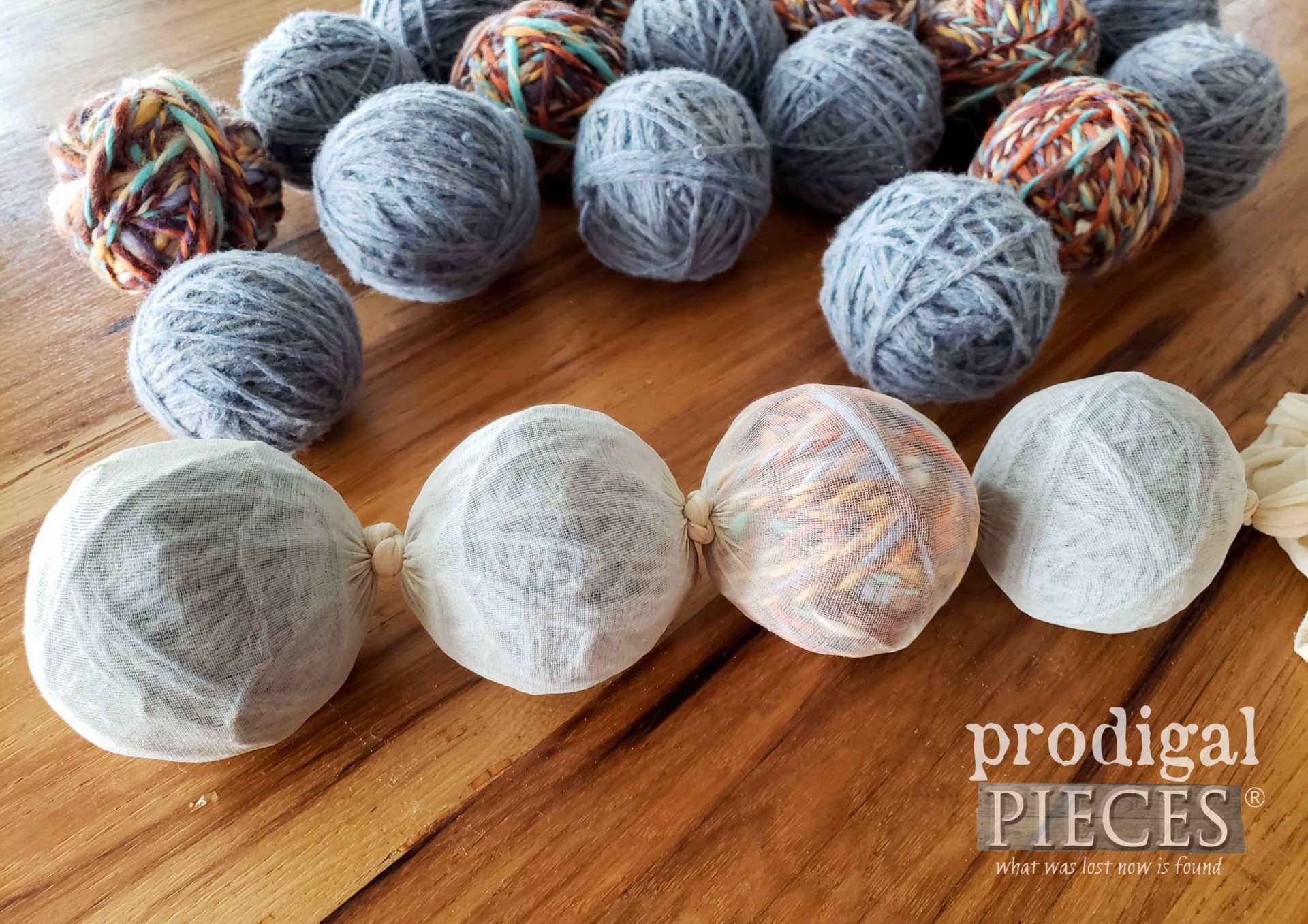 Wool Ball Chain | prodigalpieces.com