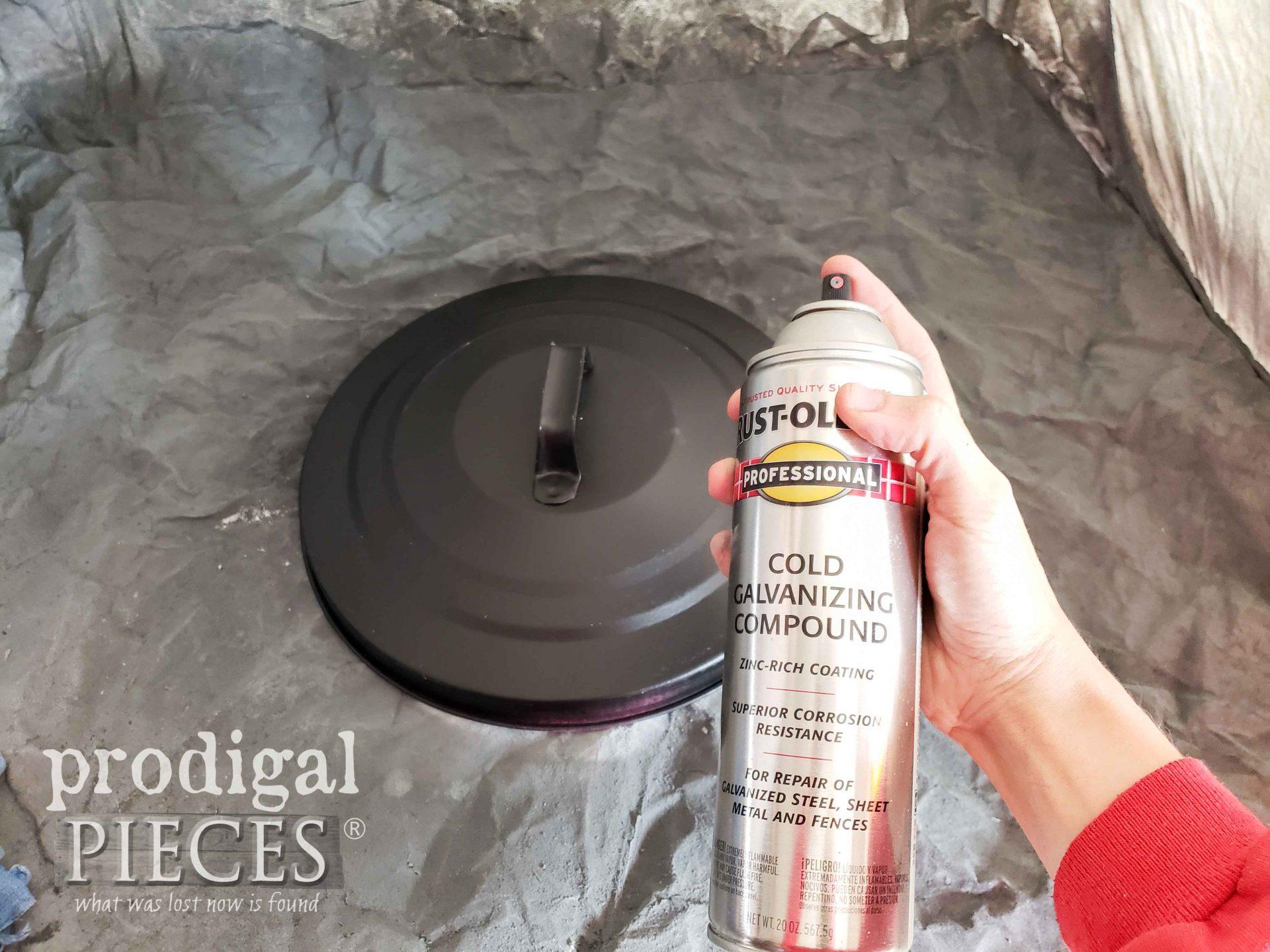 Zinc Spray Paint - Cold Galvinizing Compound | prodigalpieces.com