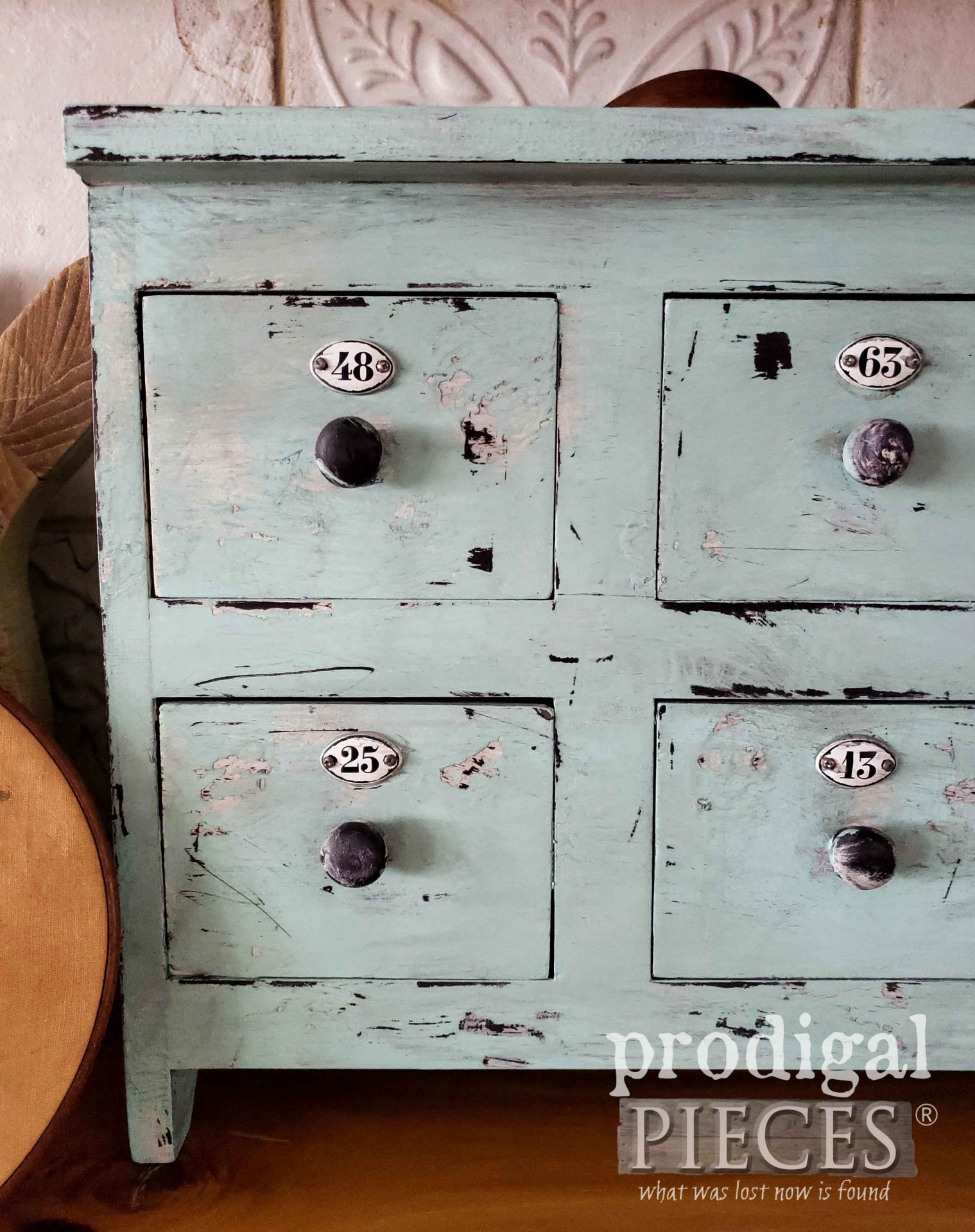 Counter Top Apothecary Cubby for Home Decor by Larissa of Prodigal Pieces | prodigalpieces.com #prodigalpieces #home #homedecor #diy #farmhouse #cottage #industrial #storage