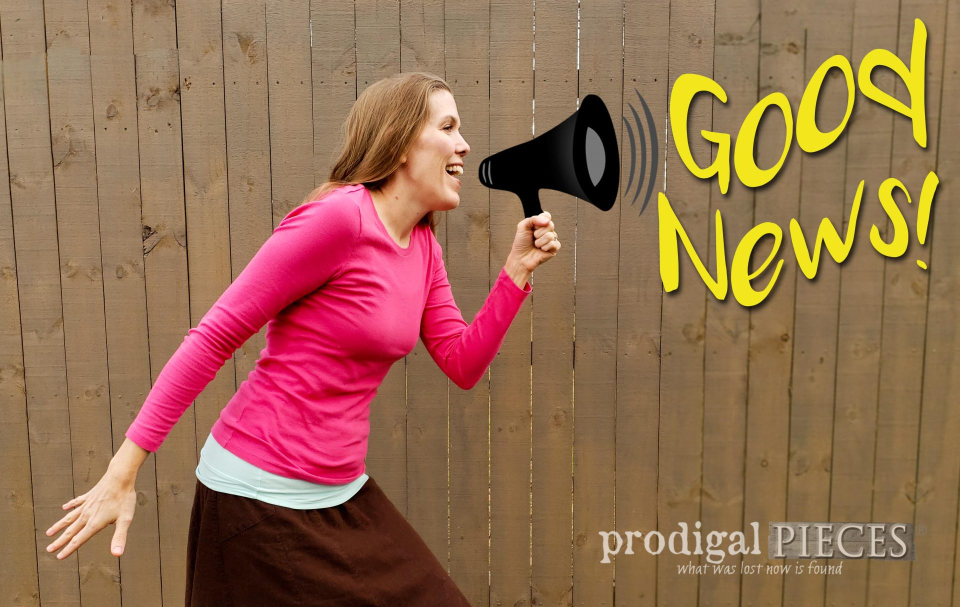 Have you hear the good news! It's so good, you'll want to share it! Larissa of Prodigal Pieces Speaking the Truth | prodigalpieces.com #prodigalpieces #goodnews #faith #life