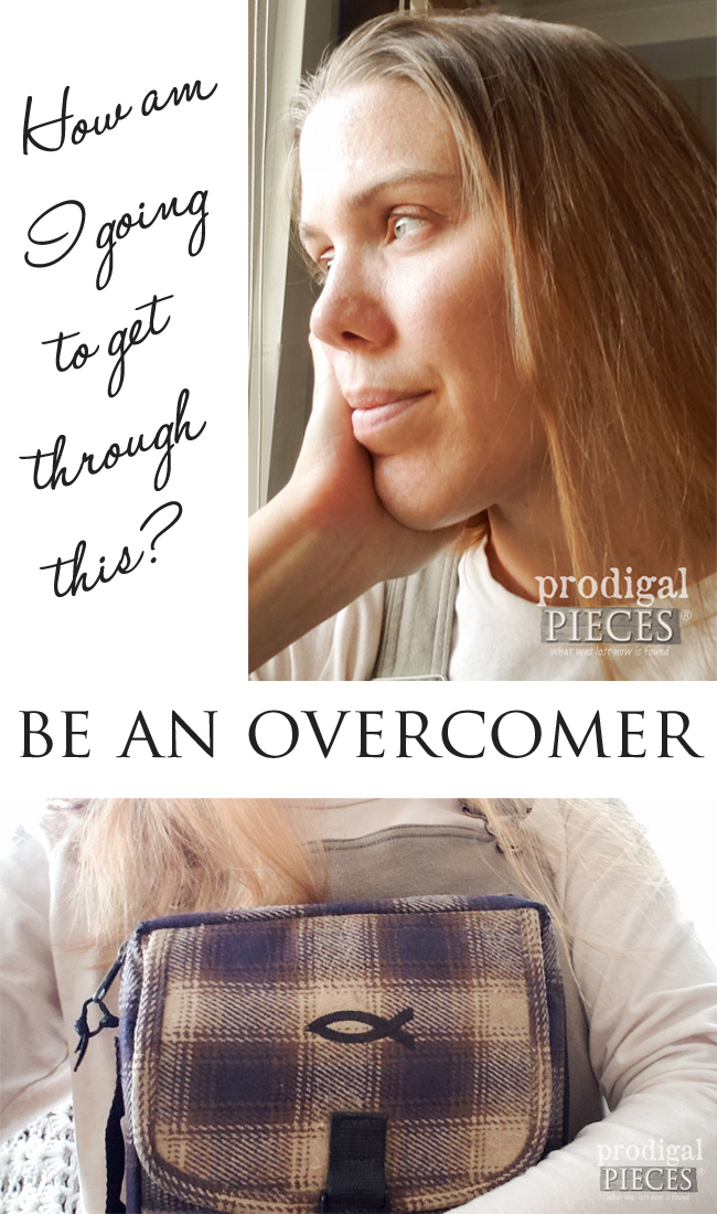 "Are you facing trials that are knocking you down? Health, finances, relationships...they can run our lives OR we can proclaim, ""I AM AN OVERCOMER"". No one has to stand alone. Detail at prodigalpieces.com #prodigalpieces #health #finance #relationships #prodigalpieces #family"