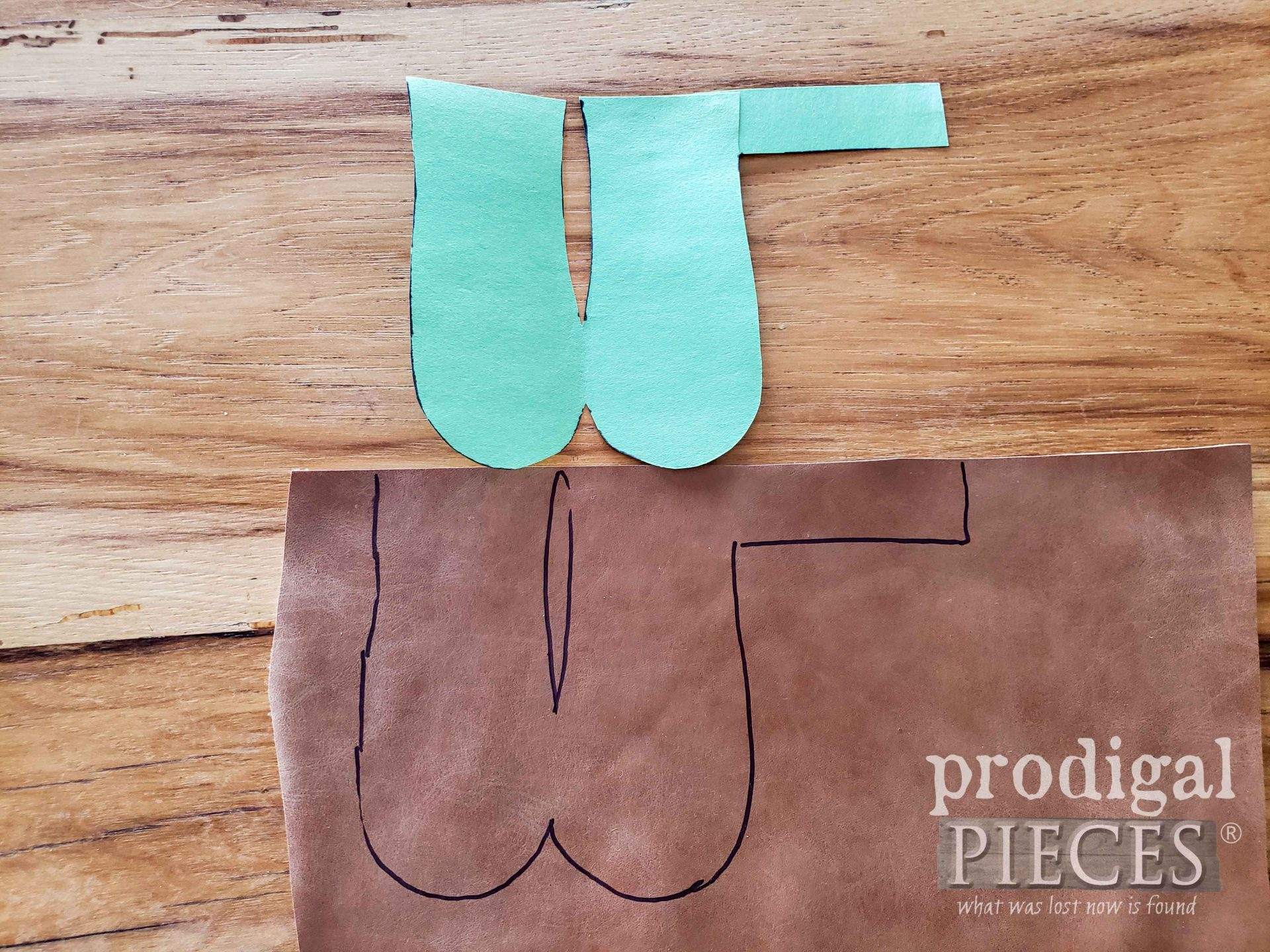 Leather Tracing Pot Holder | prodigalpieces.com