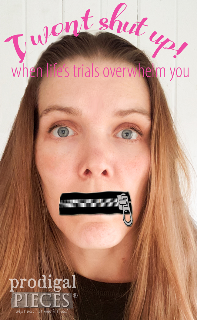 Are you facing trials that are causing you to shut up? It's time to step up, speaking the truth no matter what. Head to Prodigal Pieces | prodigalpieces.com #prodigalpieces #truth #God #faith #inspiration #love #joy #scripture