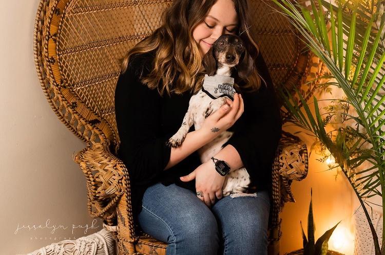 Girl with Dog Smile   prodigalpieces.com