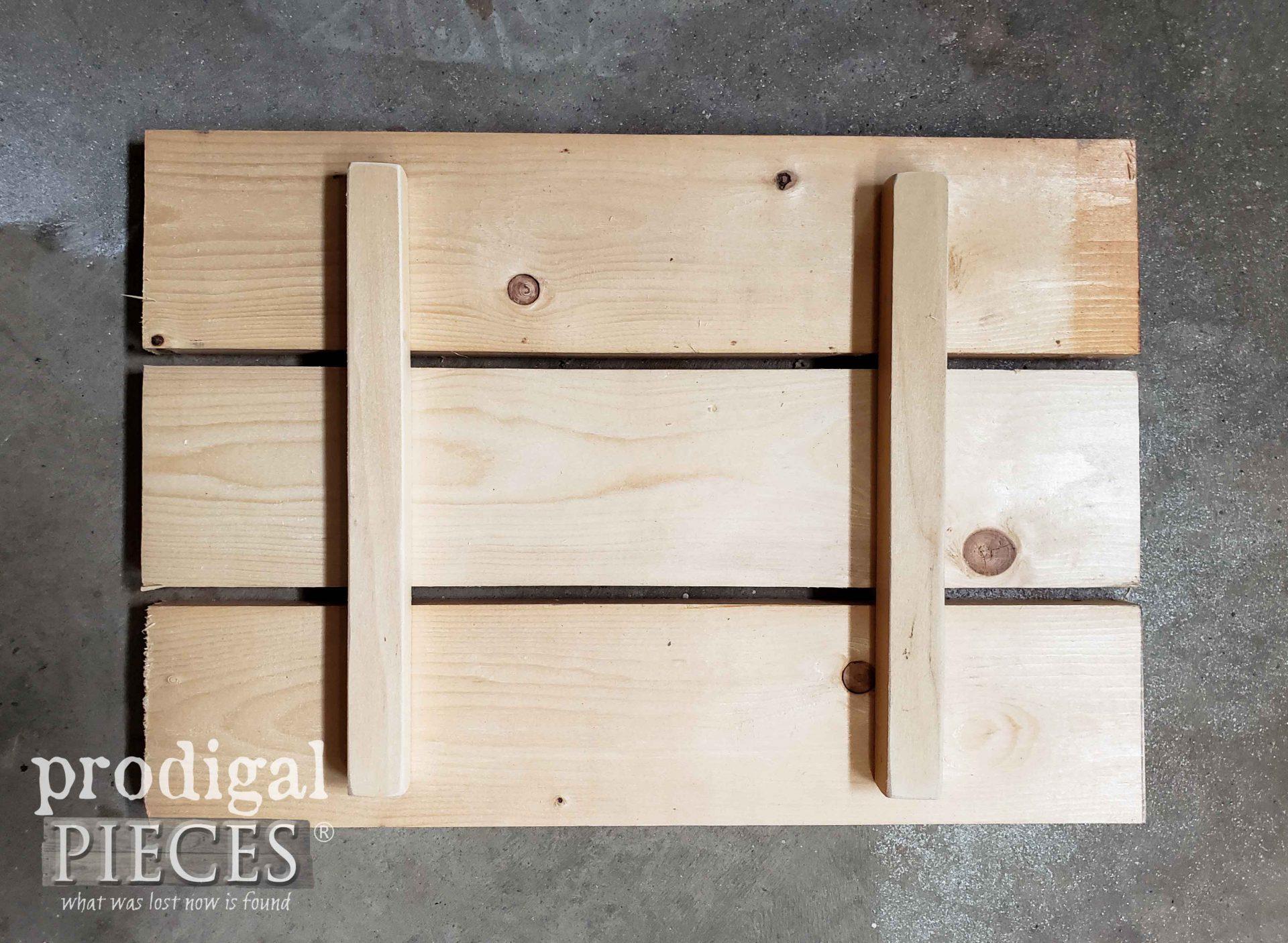 Slat Wood Bin Top DIY | prodigalpieces.com