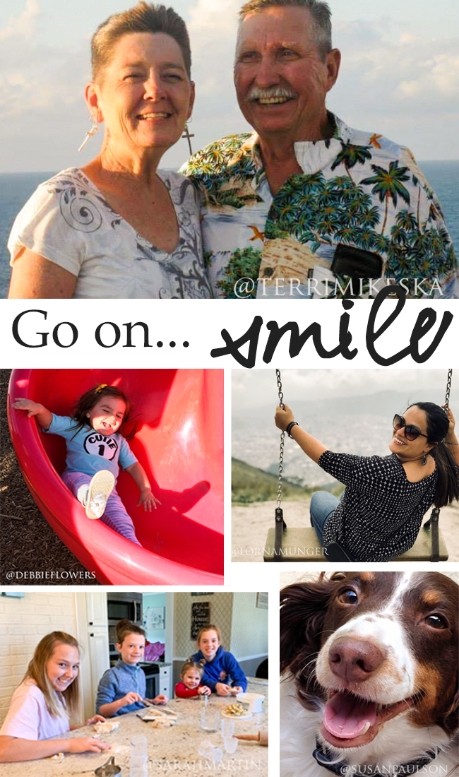 Go on and smile...it has health benefits for you and all you show your pearly whites too. Read all about it at Prodigal Pieces | prodigalpieces.com #prodigalpieces #smile #health #happiness