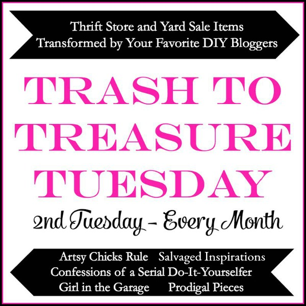 Trash to Treasure Tuesday | prodigalpieces.com