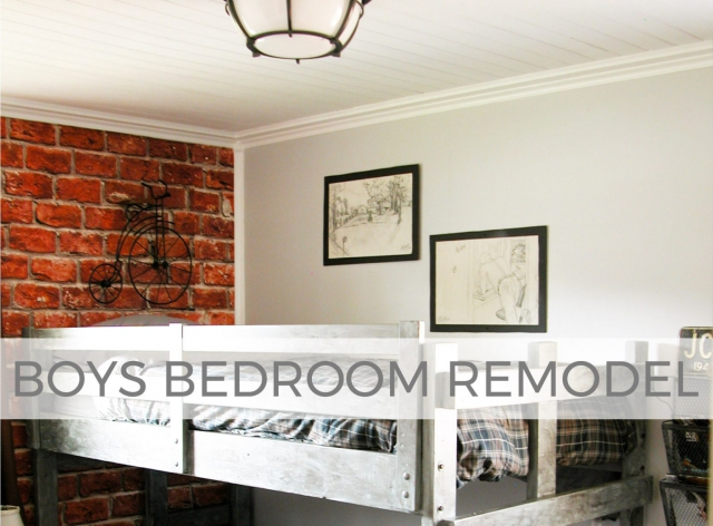 Industrial Farmhouse Boys Bedroom Remodel by Prodigal Pieces | prodigalpieces.com #prodigalpieces