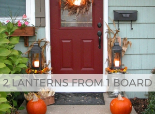Make a set of DIY Lanterns from one board   Free build plans at Prodigal Pieces   prodigalpieces.com #prodigalpieces