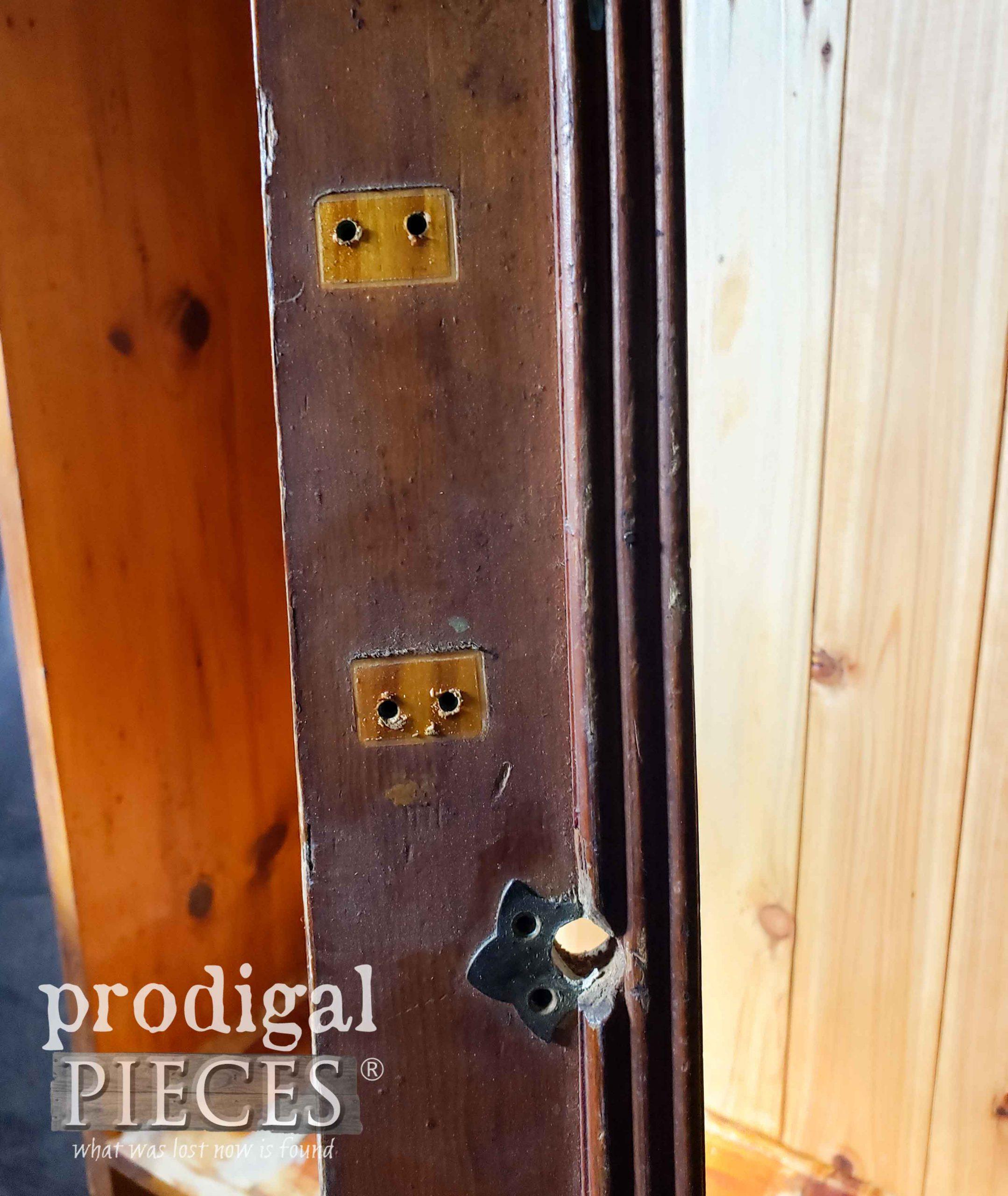 Door Handle Holes | prodigalpieces.com