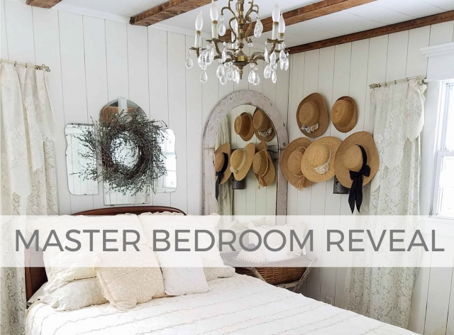 Our farmhouse master bedroom reveal by Larissa of Prodigal Pieces | prodigalpieces.com