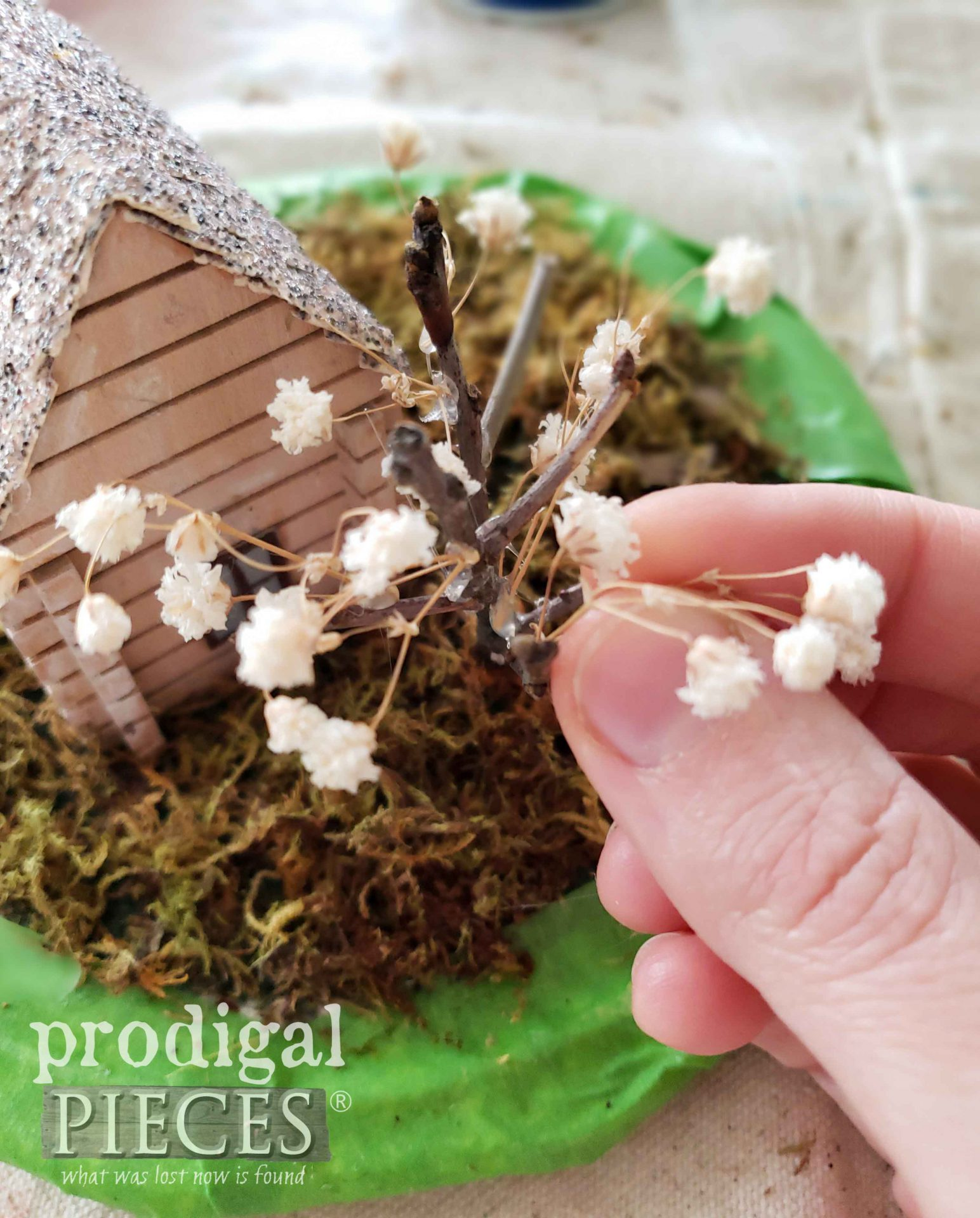 Making Miniature Tree | Homeschooling Fun while Being Home | prodigalpieces.com