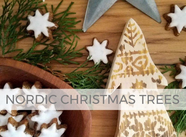 Create these Nordic Christmas Trees for your holiday decor by Larissa of Prodigal Pieces | prodigalpieces.com #prodigalpieces