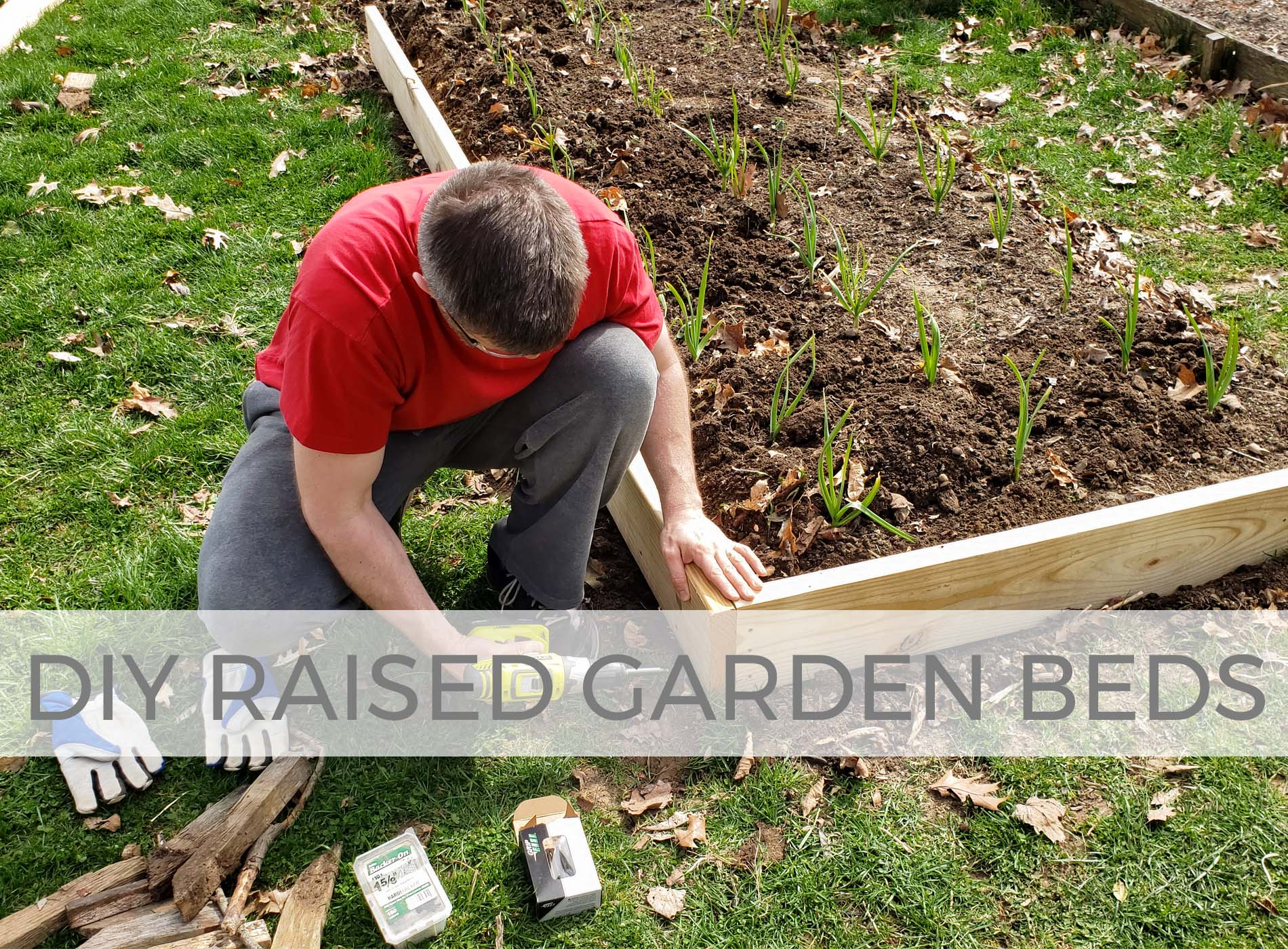 Build your own DIY raised garden beds with Prodigal Pieces | prodigalpieces.com #prodigalpieces