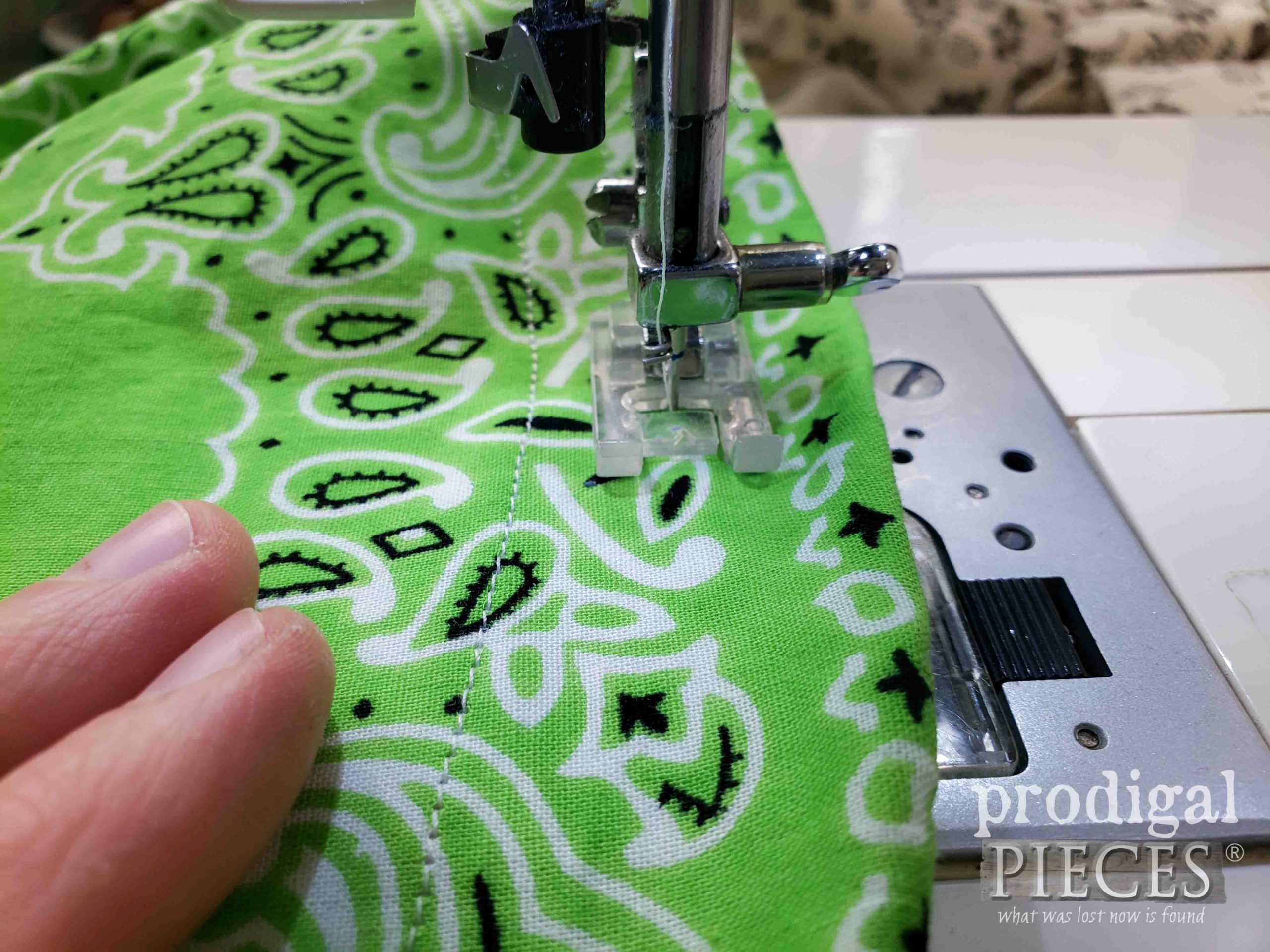 Sewing Casing for Drawstring Bag by Prodigal Pieces   prodigalpieces.com