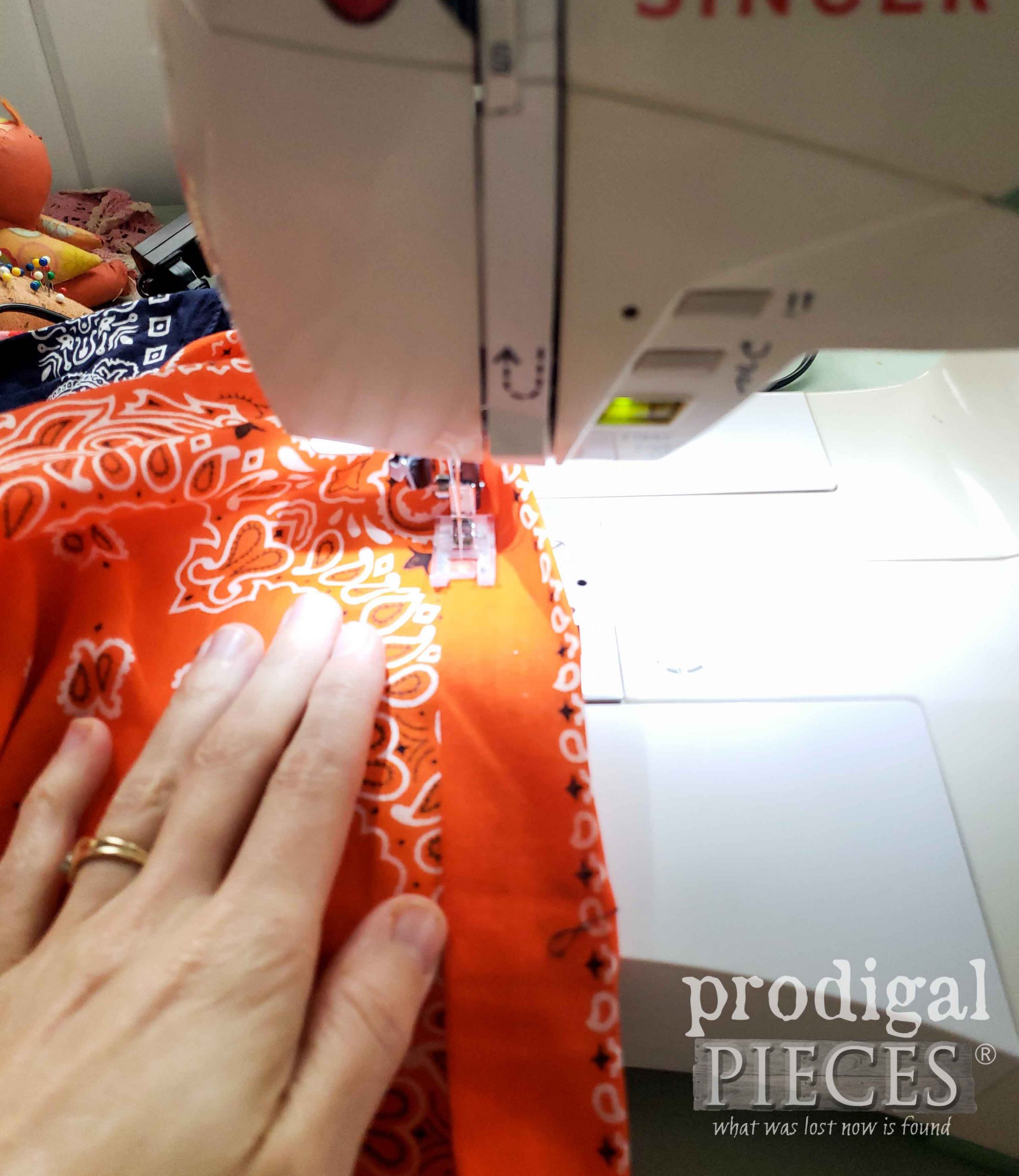 Bandana Skirt Waist Sewn | prodigalpieces.com
