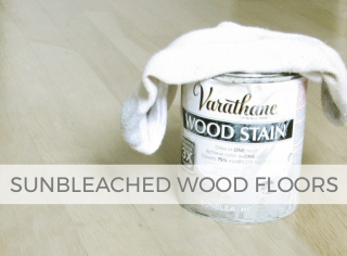 Refresh your hardwood floors with a soothing sunbleached stain | prodigalpieces.com #prodigalpieces