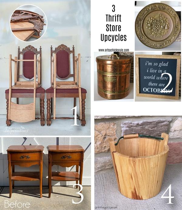 Trash to Treasure Tuesday March 2020 | prodigalpieces.com #prodigalpieces