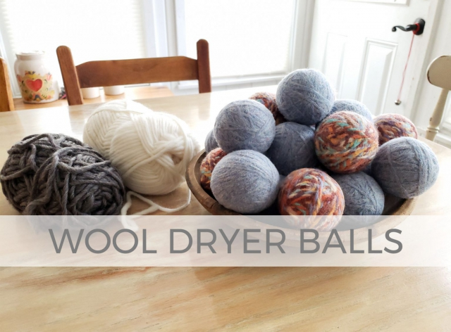 Save time, money, and the environment with these DIY wool dryer balls with video tutorial by Larissa of Prodigal Pieces | prodigalpieces.com #prodigalpieces