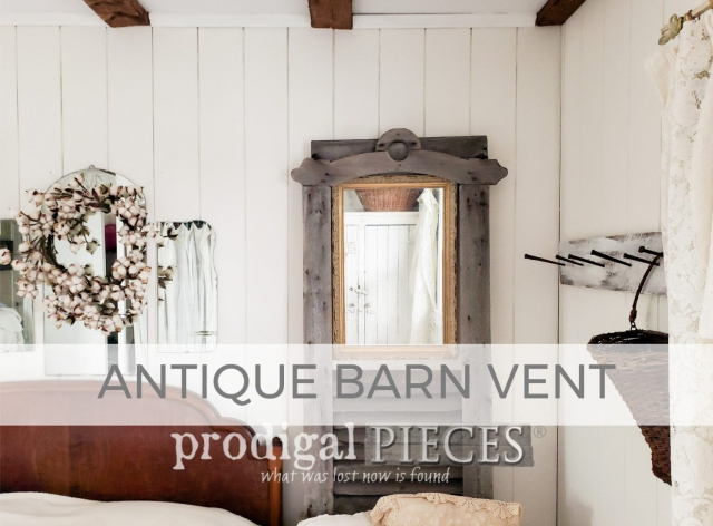 Antique Barn Vent as Home Decor by Prodigal Pieces | prodigalpieces.com