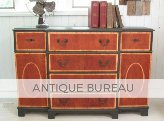Antique Bureau by Larissa of Prodigal Pieces | prodigalpieces.com