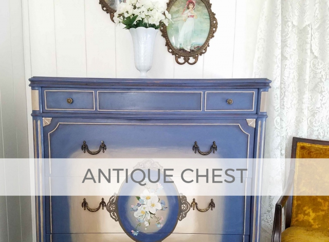 Antique Chest of Drawers Hand-Painted by Larissa of Prodigal Pieces | prodigalpieces.com #prodigalpieces