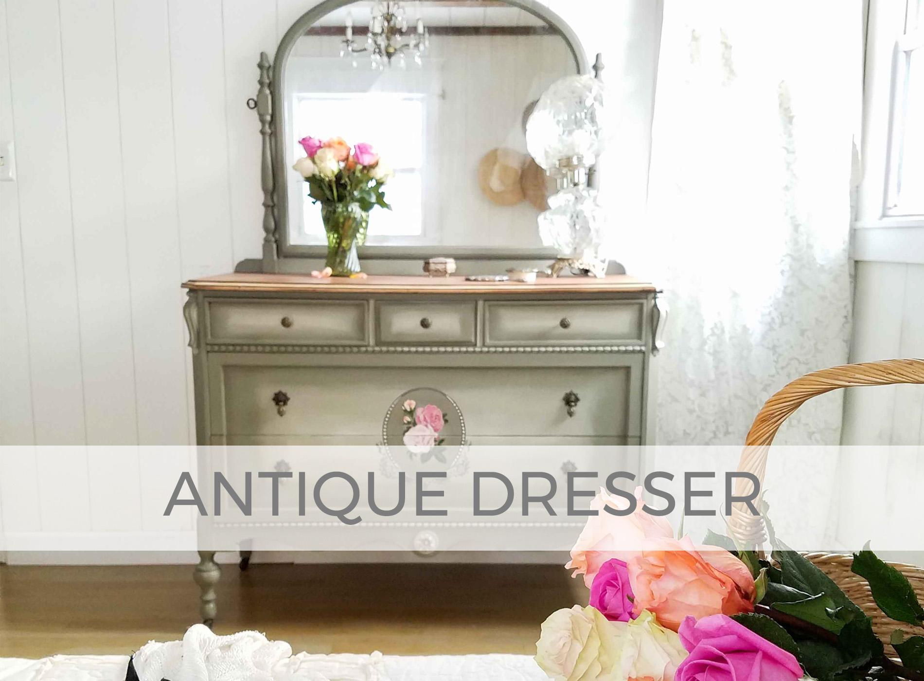 Antique Dresser by Larissa of Prodigal Pieces | prodigalpieces.com