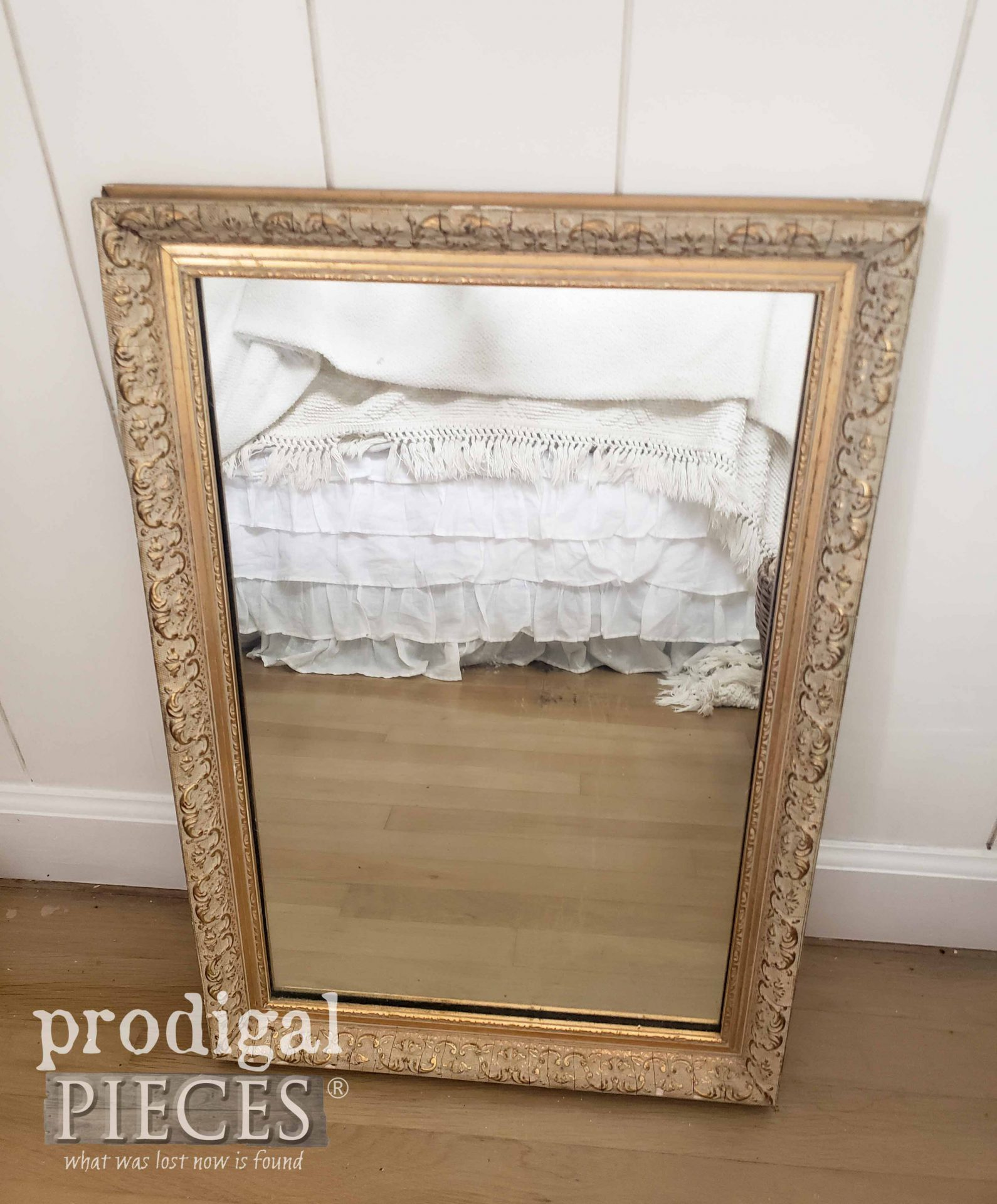 Antique Mirror for Bedroom Decor by Larissa of Prodigal Pieces | prodigalpieces.com