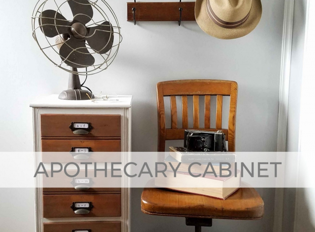 Vintage Apothecary Cabinet by Larissa of Prodigal Pieces | prodigalpieces.com #prodigalpieces